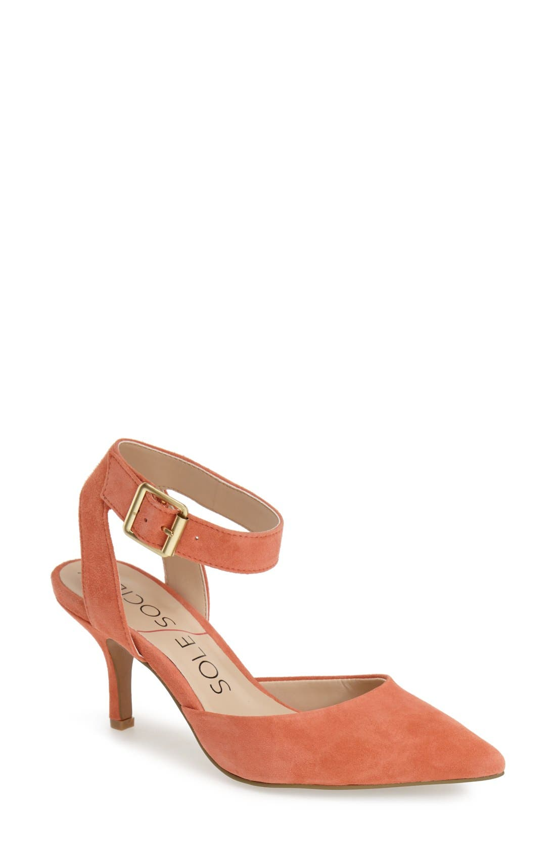 Main Image - Sole Society 'Olyvia' Suede Pump (Women)