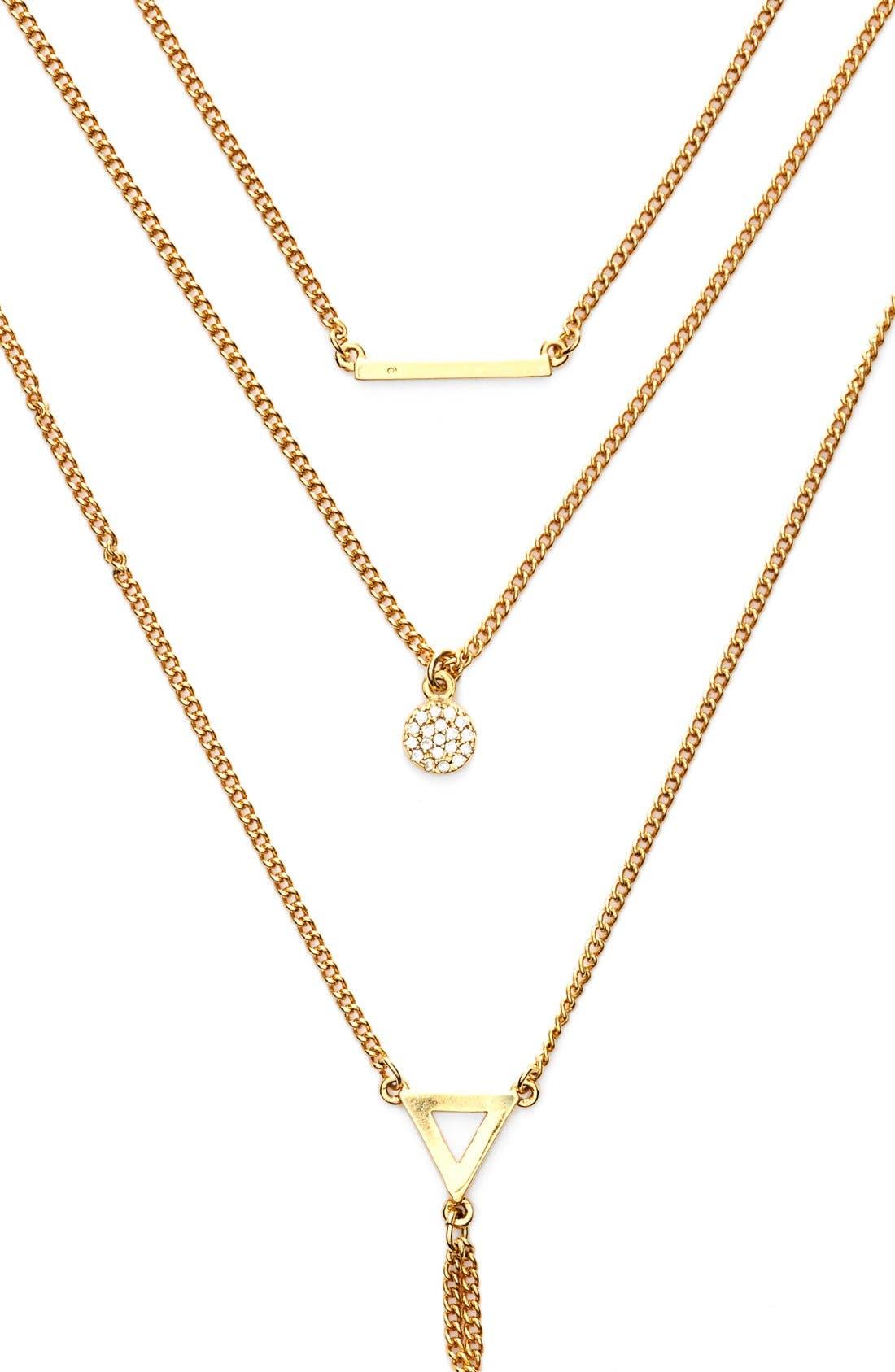 Alternate Image 2  - BaubleBar 'Facets' Layered Necklace