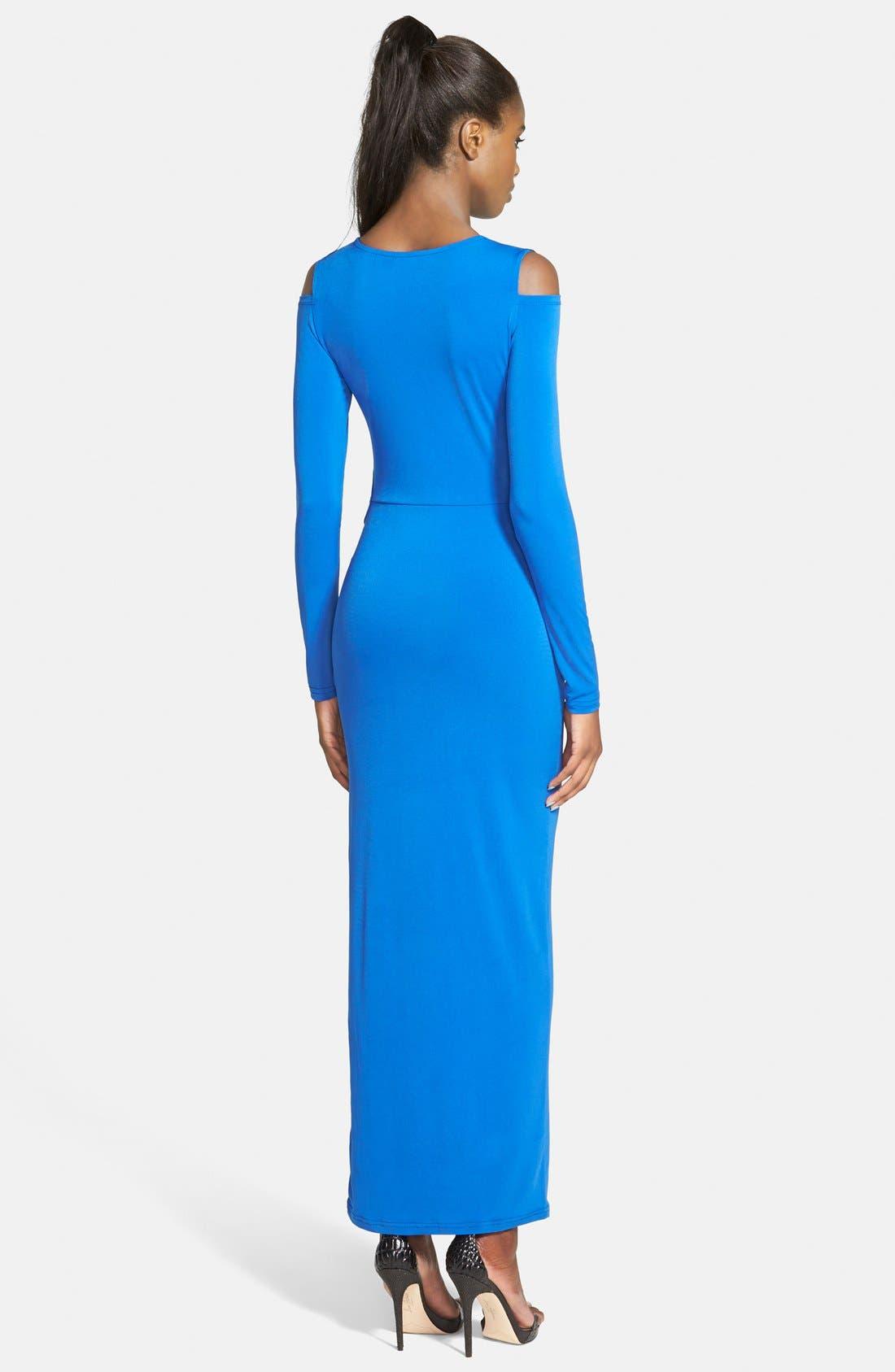 Alternate Image 2  - Glamorous Twist Front Midi Dress