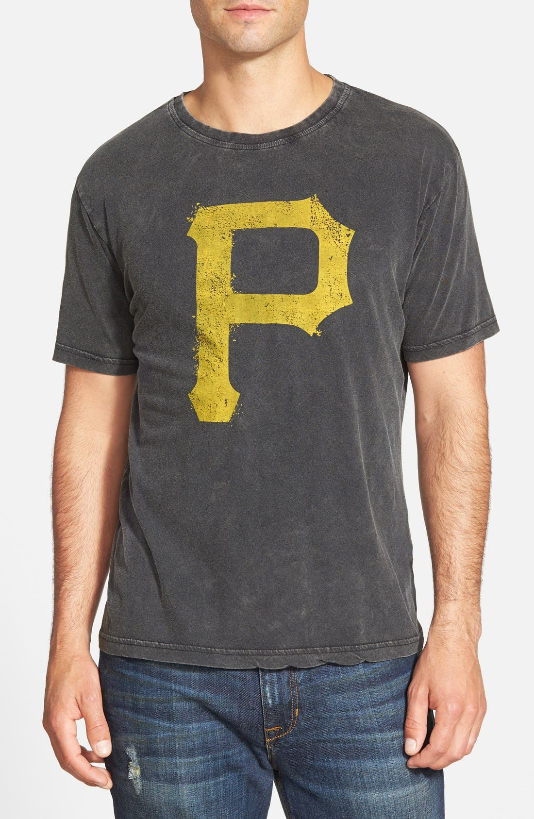 Red Jacket 'Pittsburgh Pirates - Scatter' Burnout T-Shirt