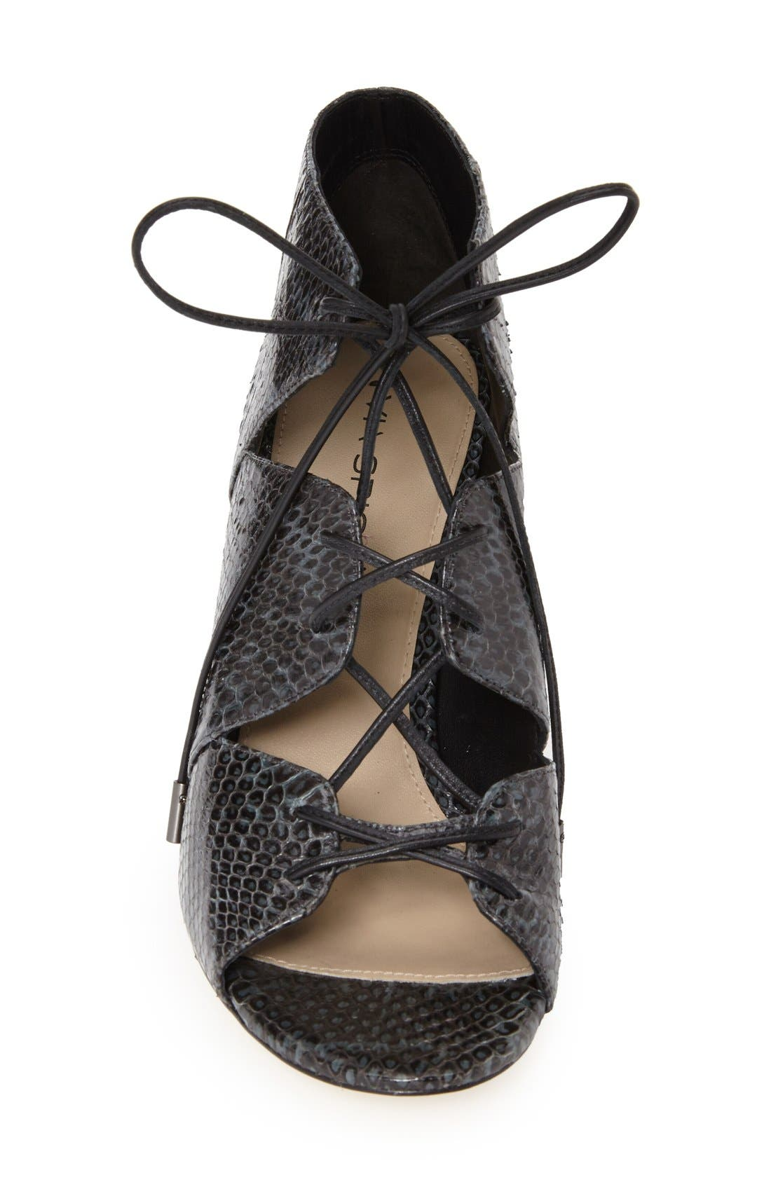 Alternate Image 4  - Via Spiga 'Vibe' Lace-Up Pump (Women)