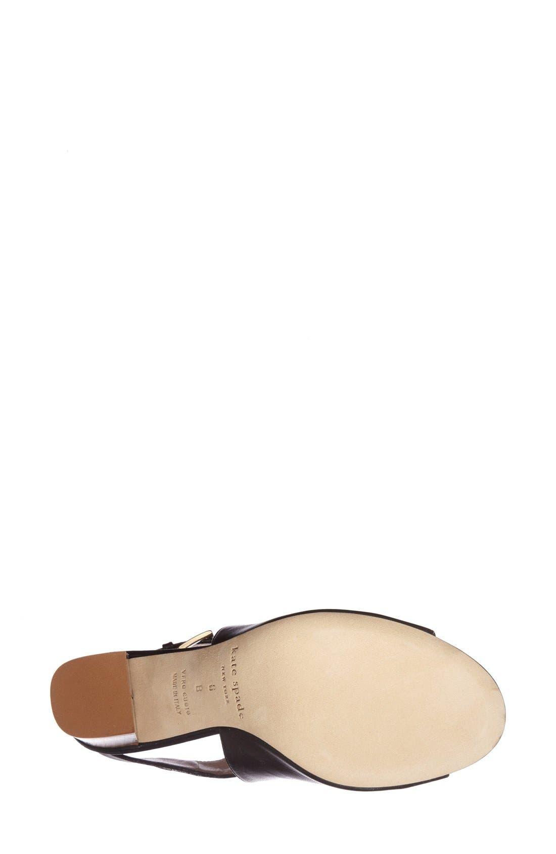 Alternate Image 4  - kate spade new york 'ingrada' slingback sandal (Women)