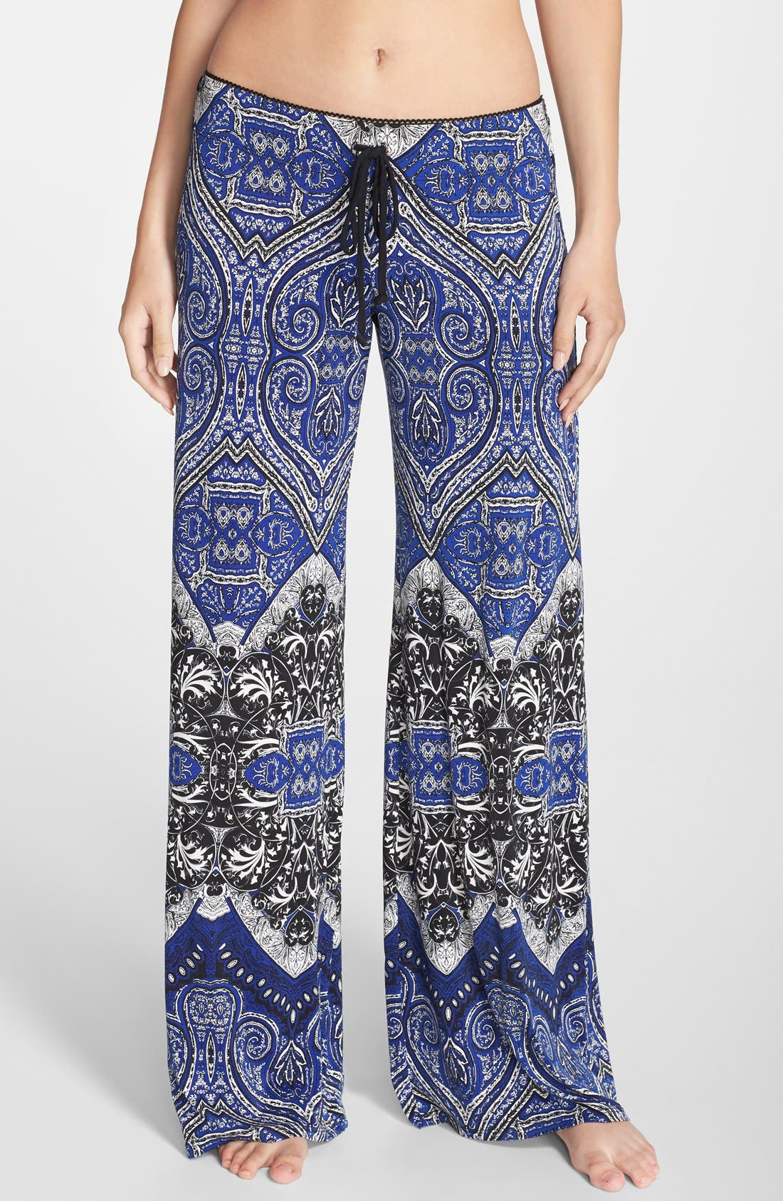Alternate Image 1 Selected - In Bloom by Jonquil Tapestry Print Lounge Pants