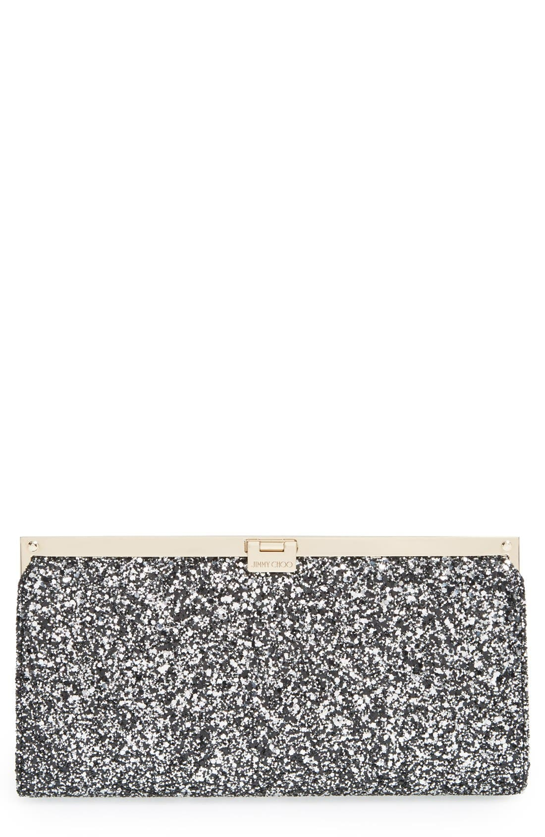 Alternate Image 1 Selected - Jimmy Choo 'Camille' Glitter Clutch