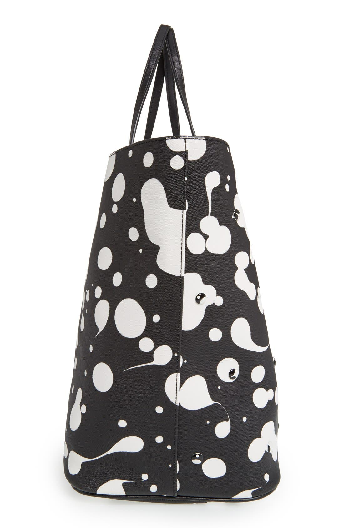 Alternate Image 6  - MARC BY MARC JACOBS 'Metropoli Oil Drop Studs' Travel Tote