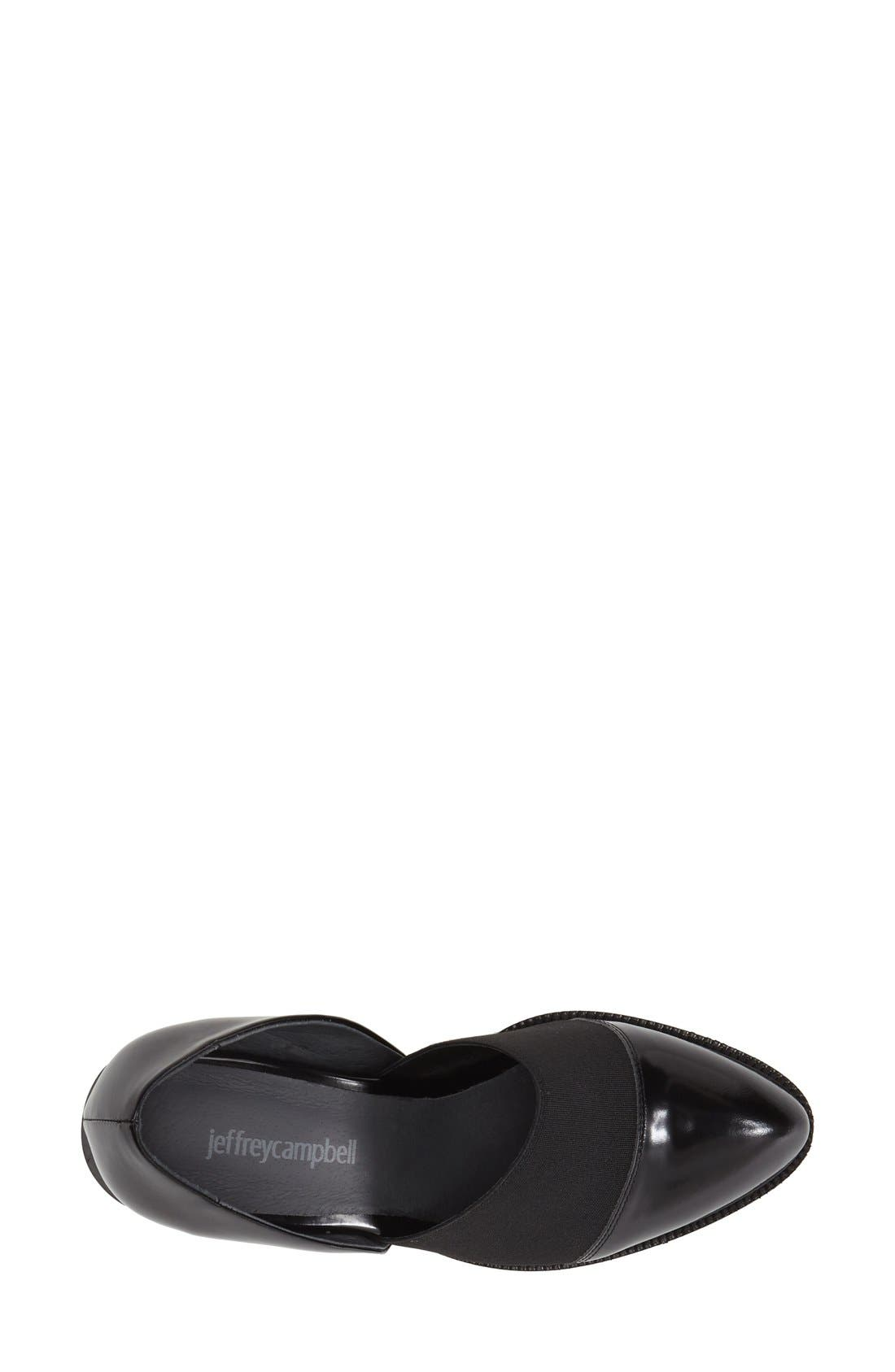 Alternate Image 3  - Jeffrey Campbell 'Shriver' Almond Toe Loafer (Women)