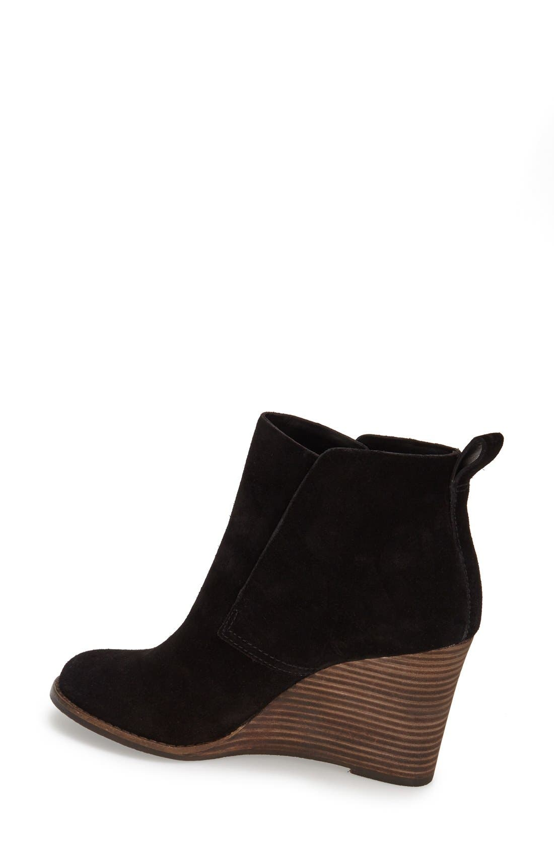 Alternate Image 2  - Lucky Brand 'Yoniana' Wedge Bootie (Women)