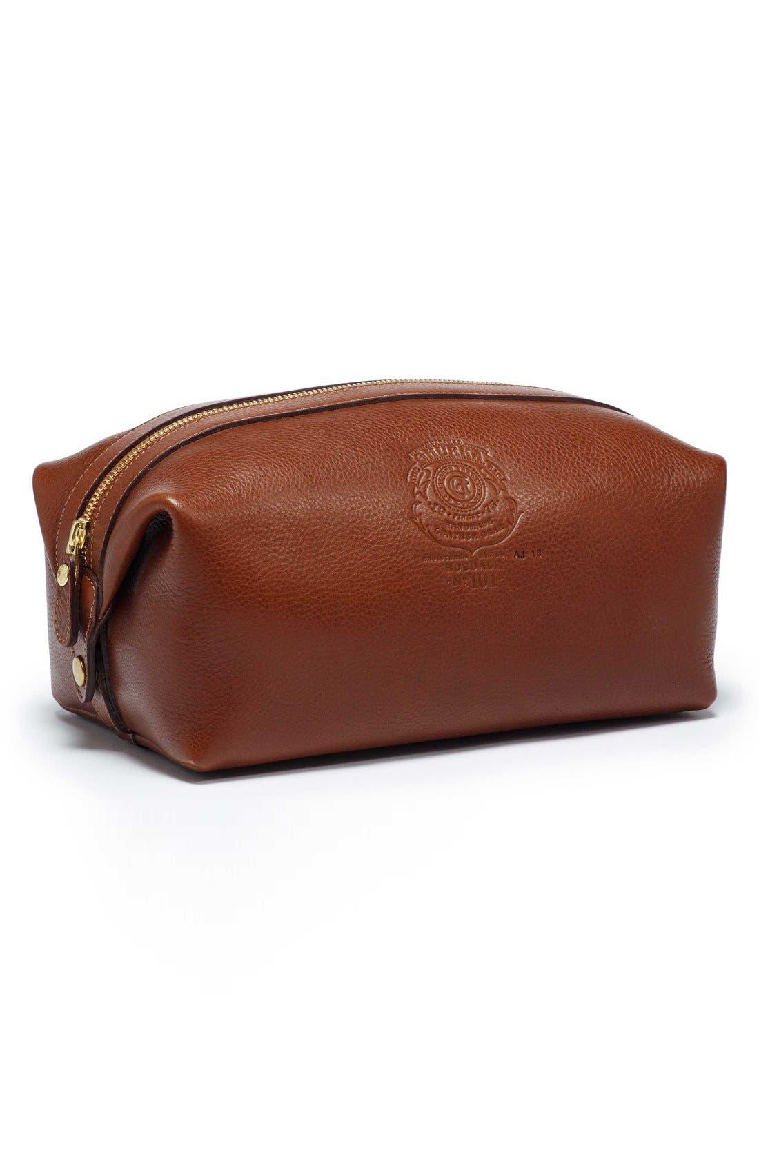 Ghurka Holdall Leather Travel Kit
