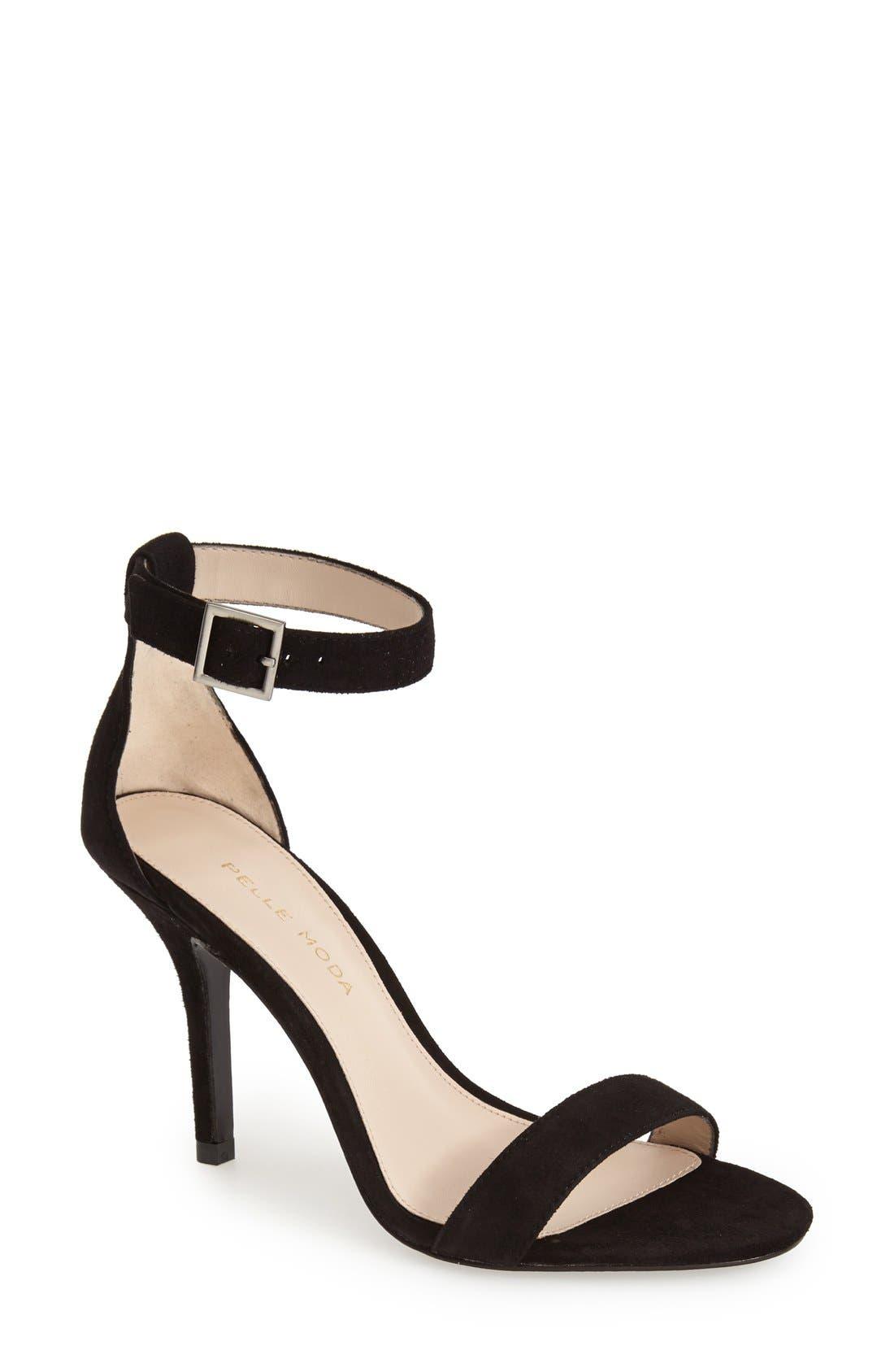 Alternate Image 1 Selected - Pelle Moda 'Kacey' Ankle Strap Sandal
