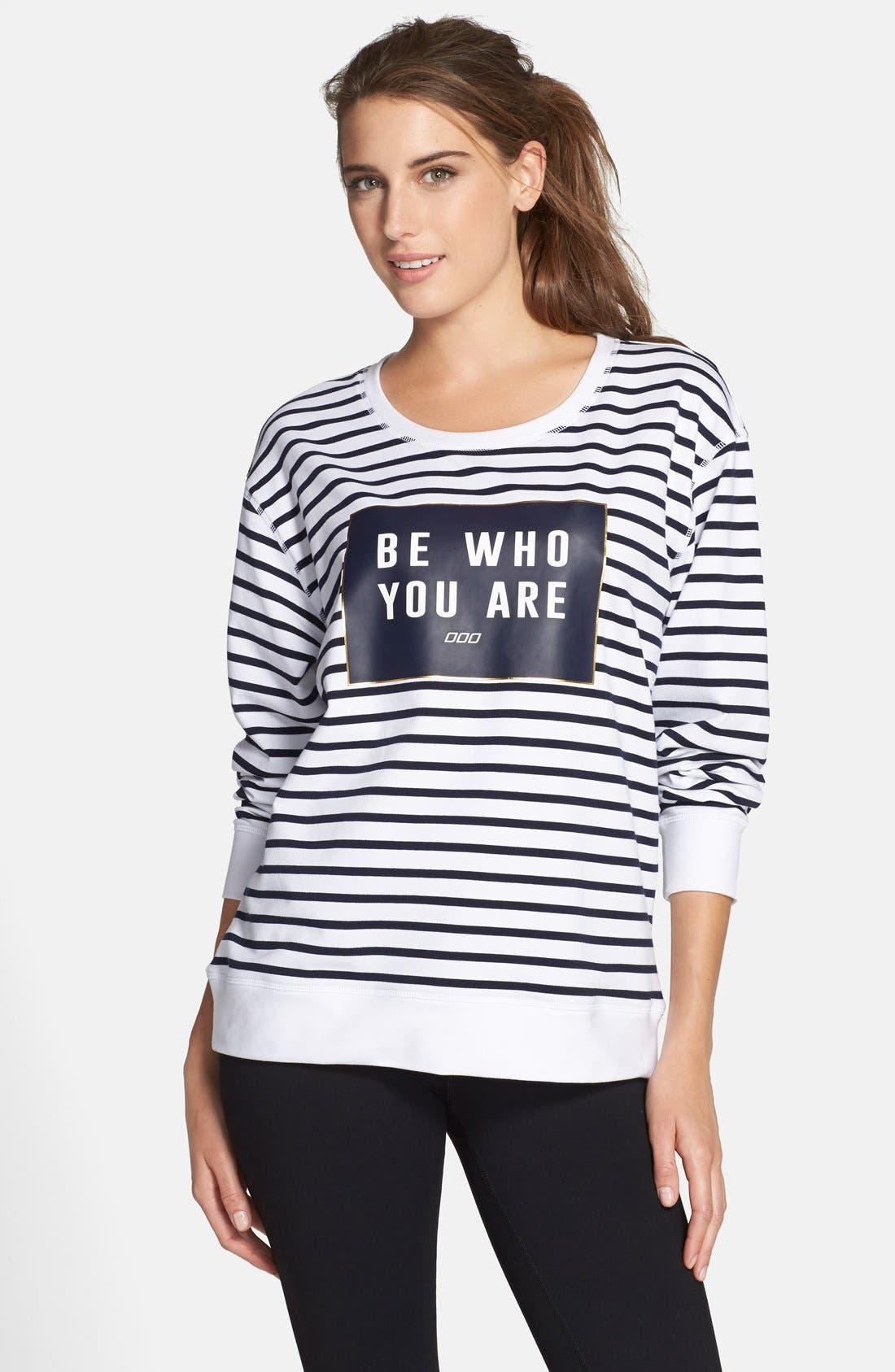 Alternate Image 1 Selected - Lorna Jane 'Lily' Sweatshirt