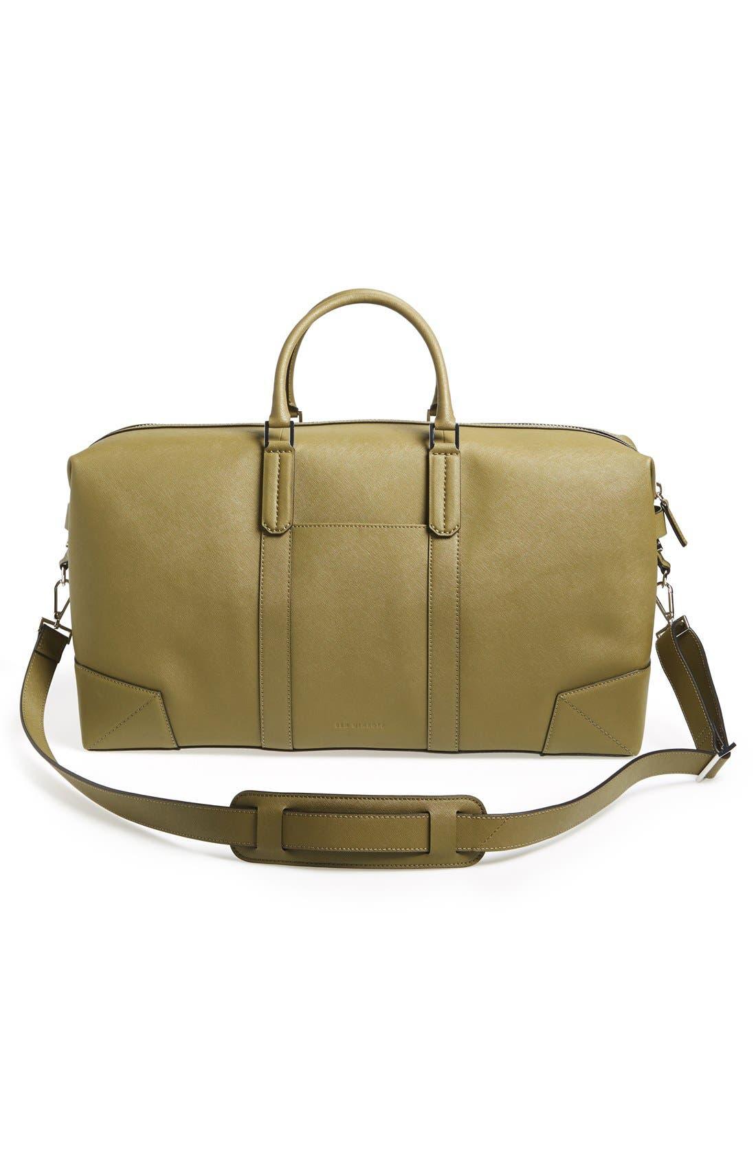 Alternate Image 3  - Ben Minkoff 'Wythe' Weekend Size Saffiano Leather Duffel Bag