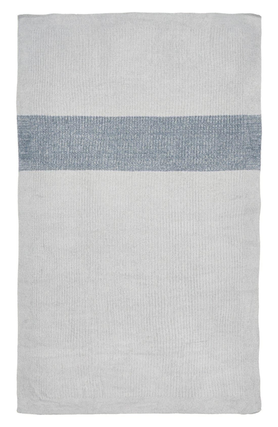 Alternate Image 2  - Barefoot Dreams® Heathered Stripe Throw