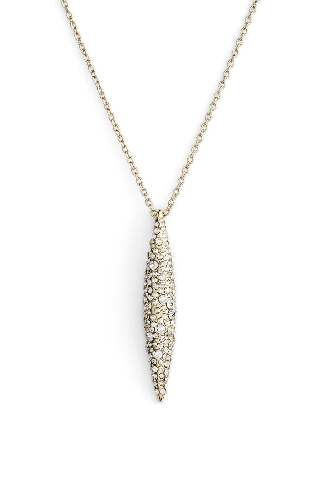Alternate Image 1 Selected - Alexis Bittar 'Miss Havisham' Crystal Encrusted Spear Pendant Necklace