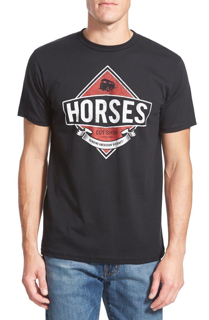 Horses cut shop 39 horses 39 graphic t shirt nordstrom for Graphic t shirt shop