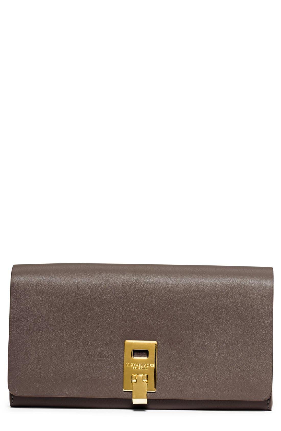 Alternate Image 1 Selected - Michael Kors 'Miranda' Leather Continental Wallet