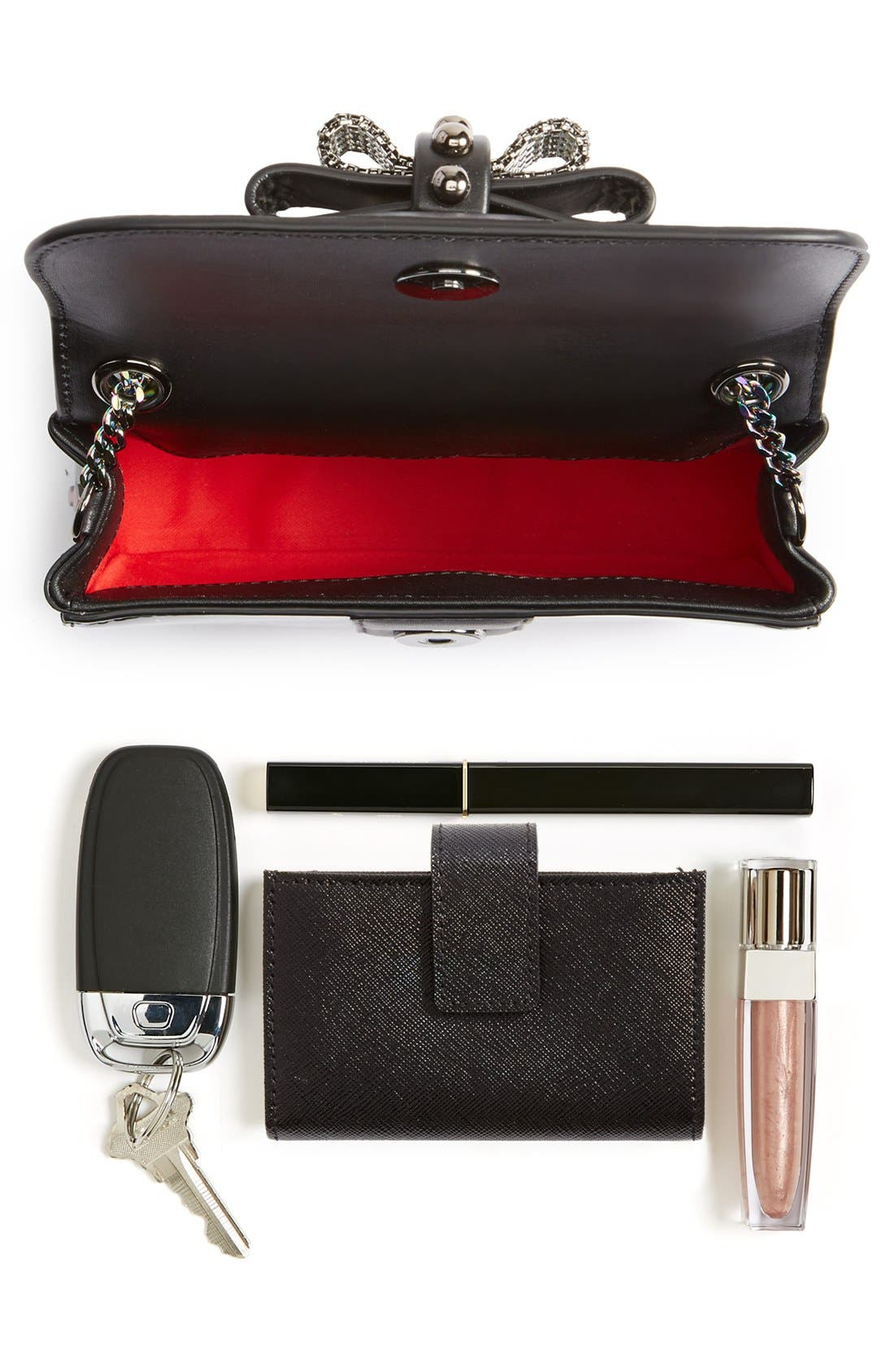 Alternate Image 7  - Christian Louboutin 'Sweety Charity' Patent Leather Shoulder Bag