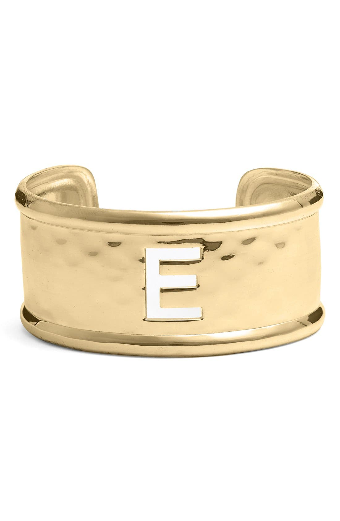 Alternate Image 1 Selected - Rustic Cuff Cutout Initial Cuff