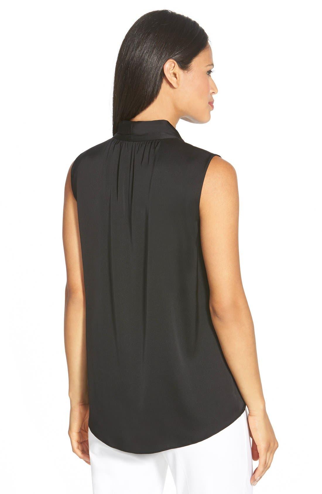 Alternate Image 2  - Elie Tahari 'Judith' Stretch Silk Shell
