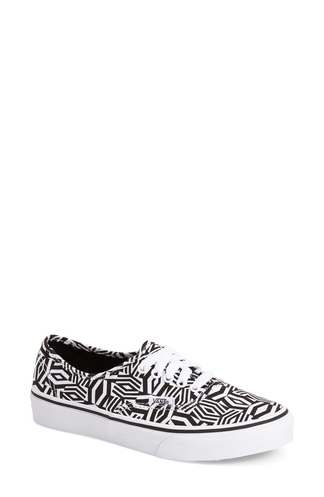 Alternate Image 1 Selected - Vans 'Authentic Slim - Geo Realm' Sneaker (Women)