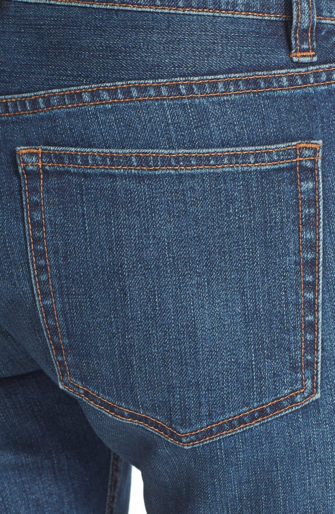 Alternate Image 3  - MARC BY MARC JACOBS Slim Crop Boyfriend Jeans (Vintage Blue)