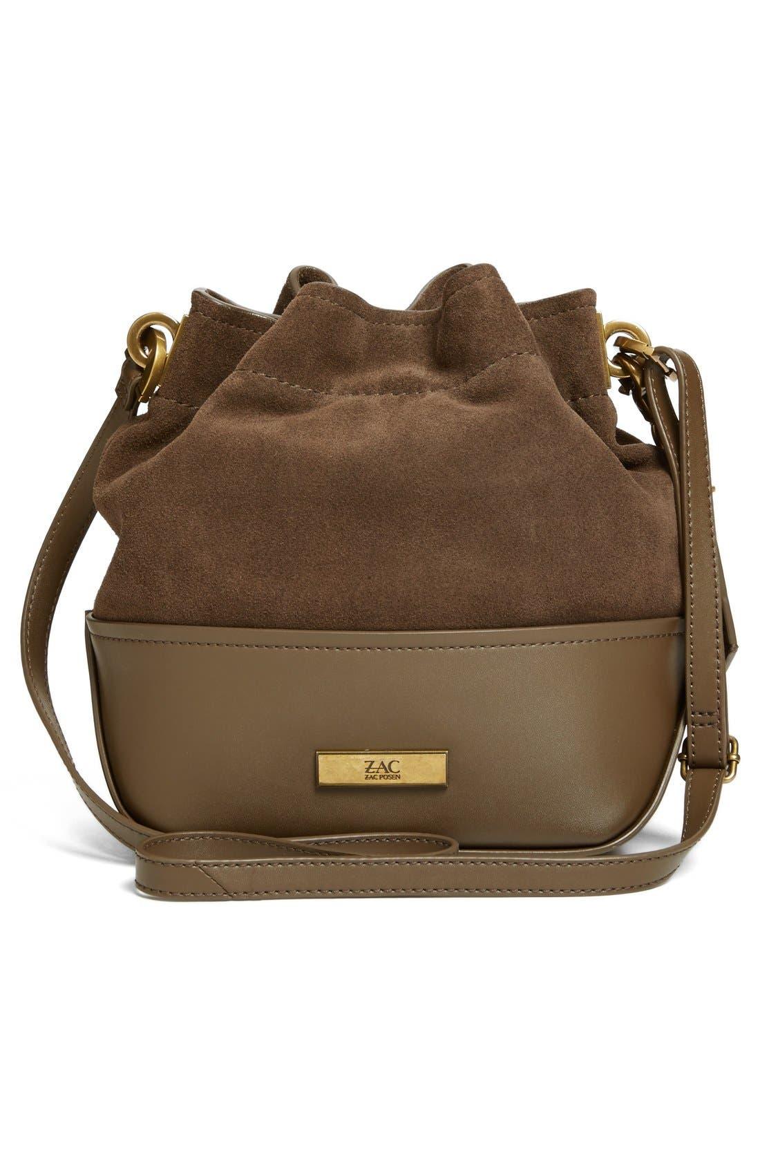 Alternate Image 3  - ZAC Zac Posen 'Mini Eartha' Calfskin Bucket Bag