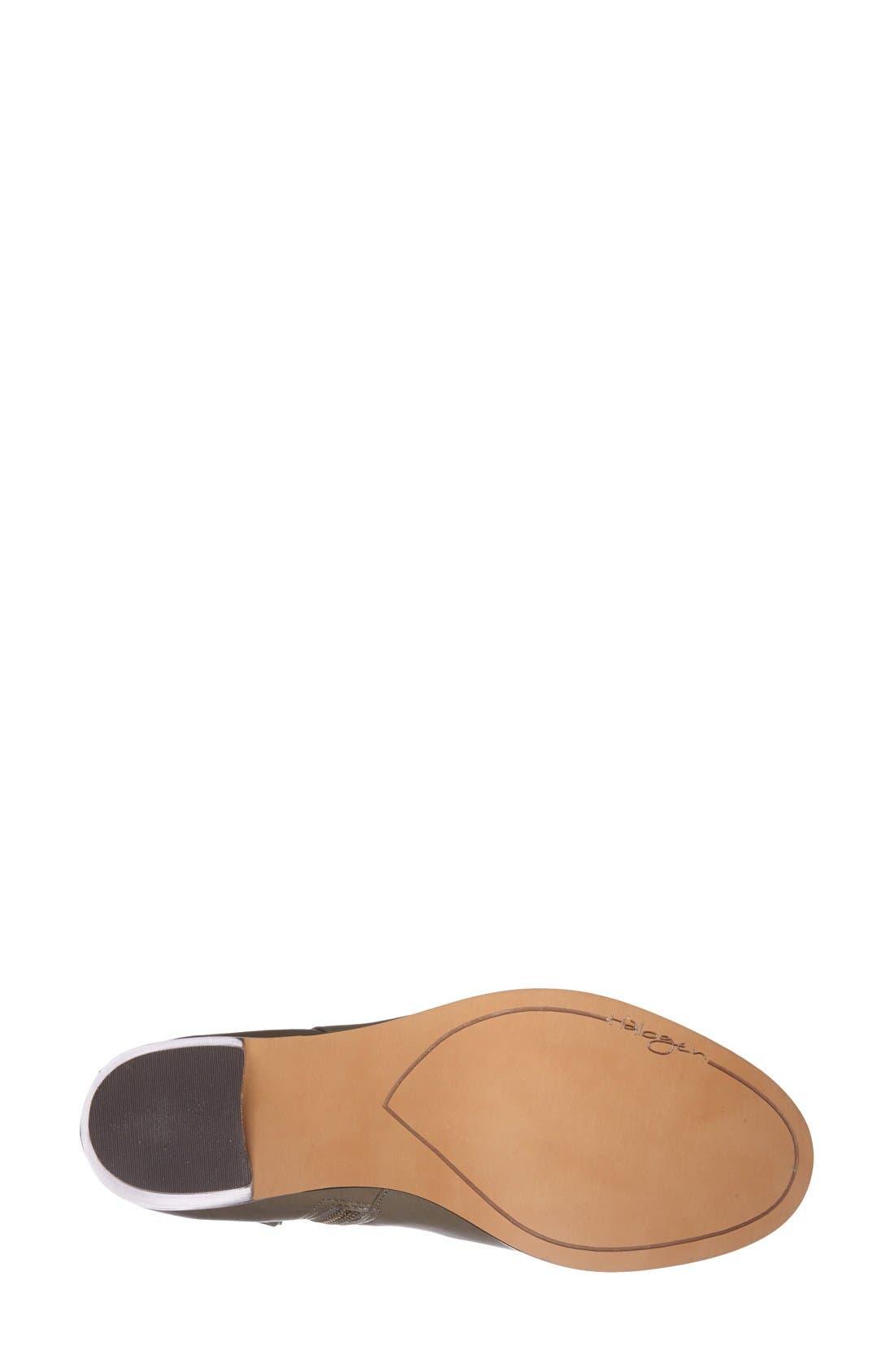 Alternate Image 4  - Halogen® 'Glenna' Leather Ankle Bootie (Women)