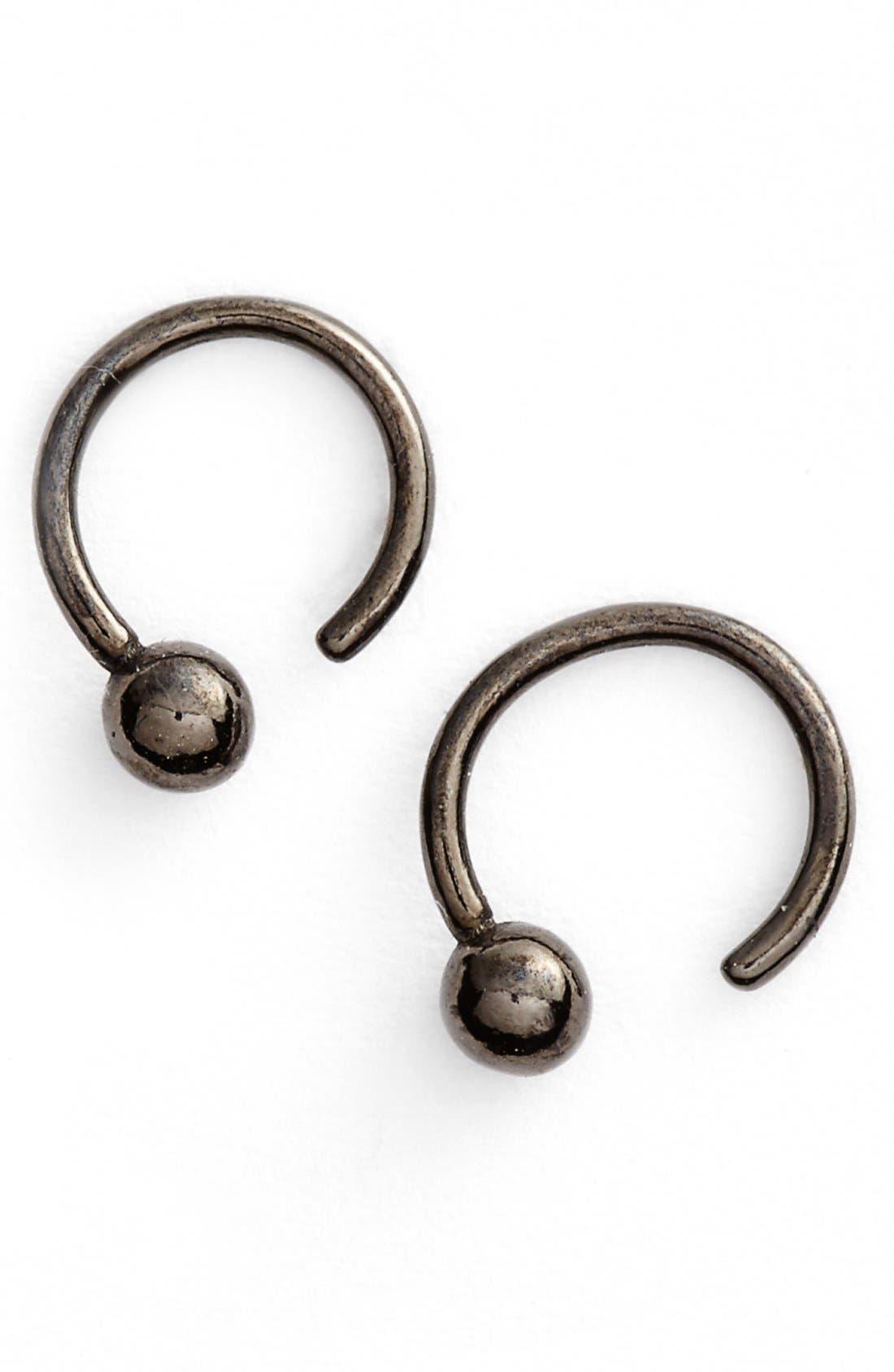 JULIEN DAVID Coated Earrings