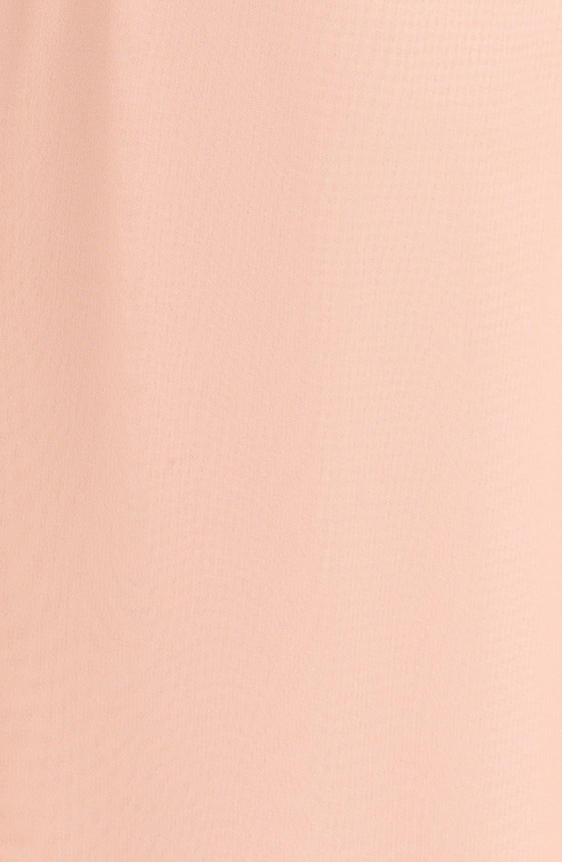 Alternate Image 3  - nouvelle AMSALE 'Drew' Ruffle Front Chiffon Gown