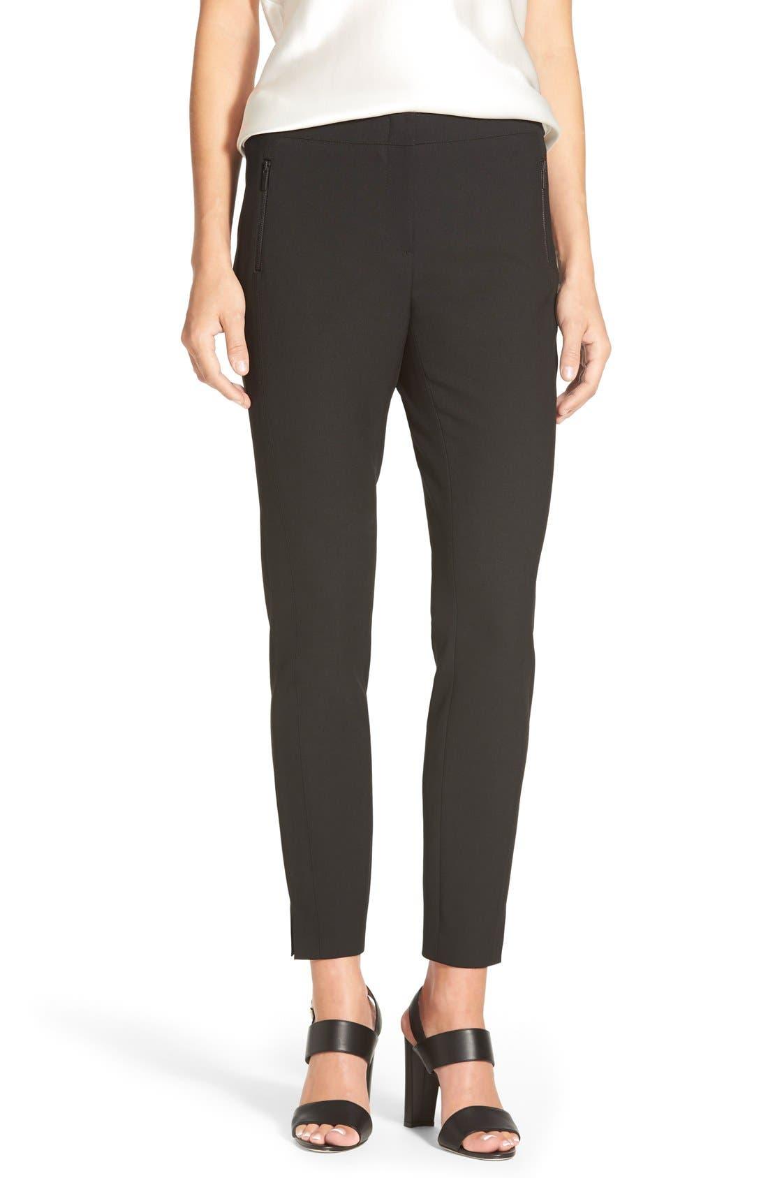Classiques Entier® Zip Pocket Ankle Pants (Regular & Petite)