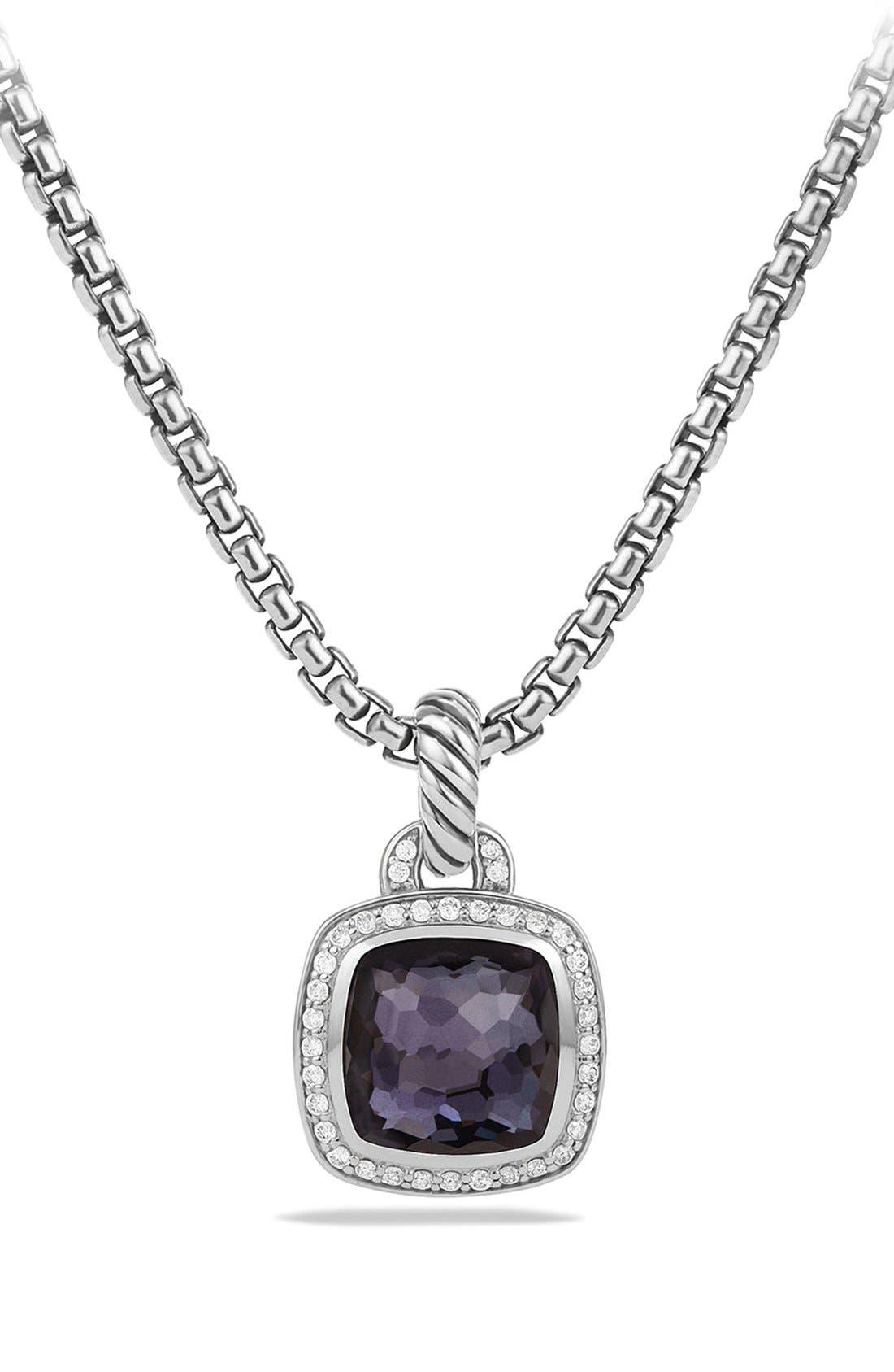 David Yurman'Albion' Pendant and Diamonds