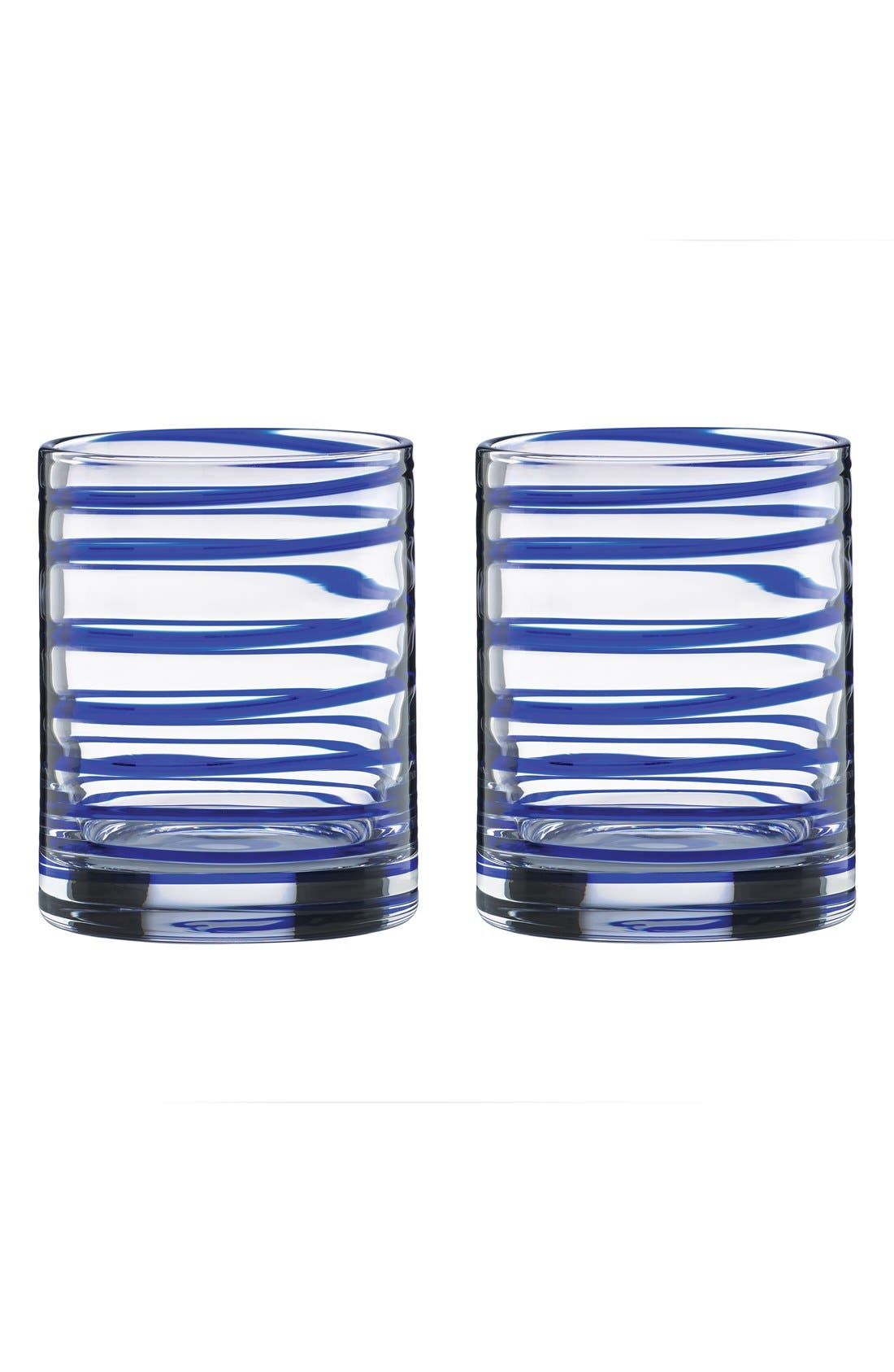 Main Image - kate spade new york 'charlotte street' double old-fashioned glasses (set of 2)