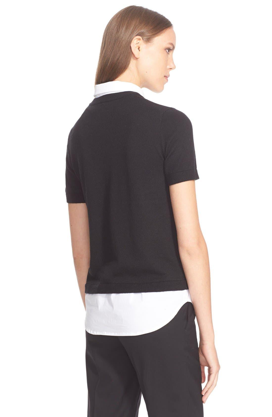 Alternate Image 2  - kate spade new york shirttail sweater