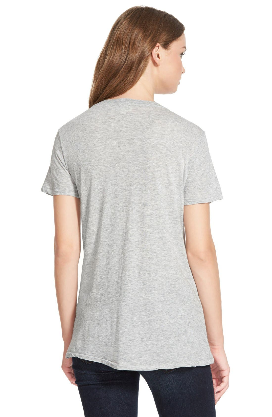 Alternate Image 2  - AG 'Kiara' V-Neck Tee