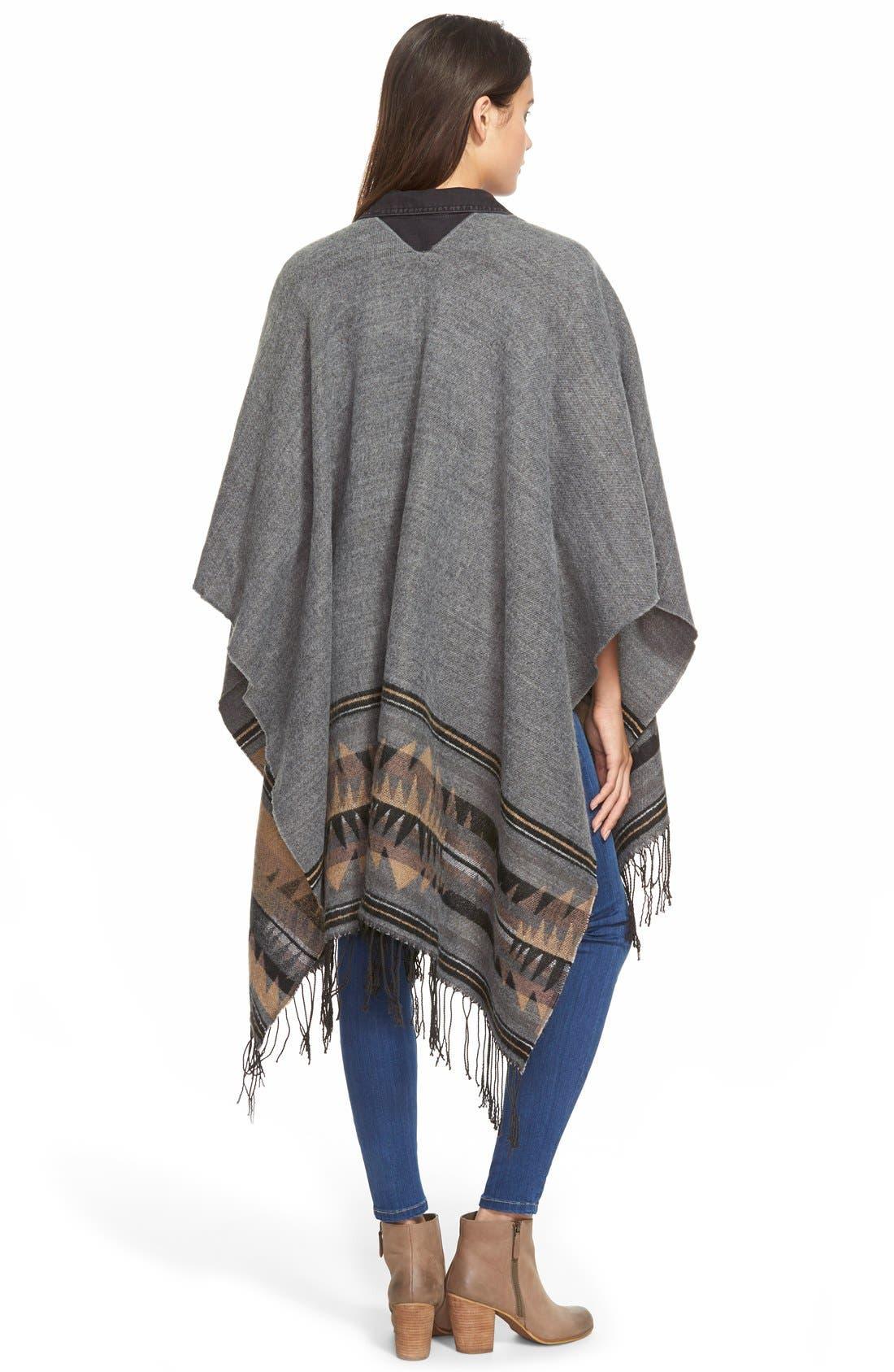 Alternate Image 2  - BP. 'Wanderlust' Blanket Poncho