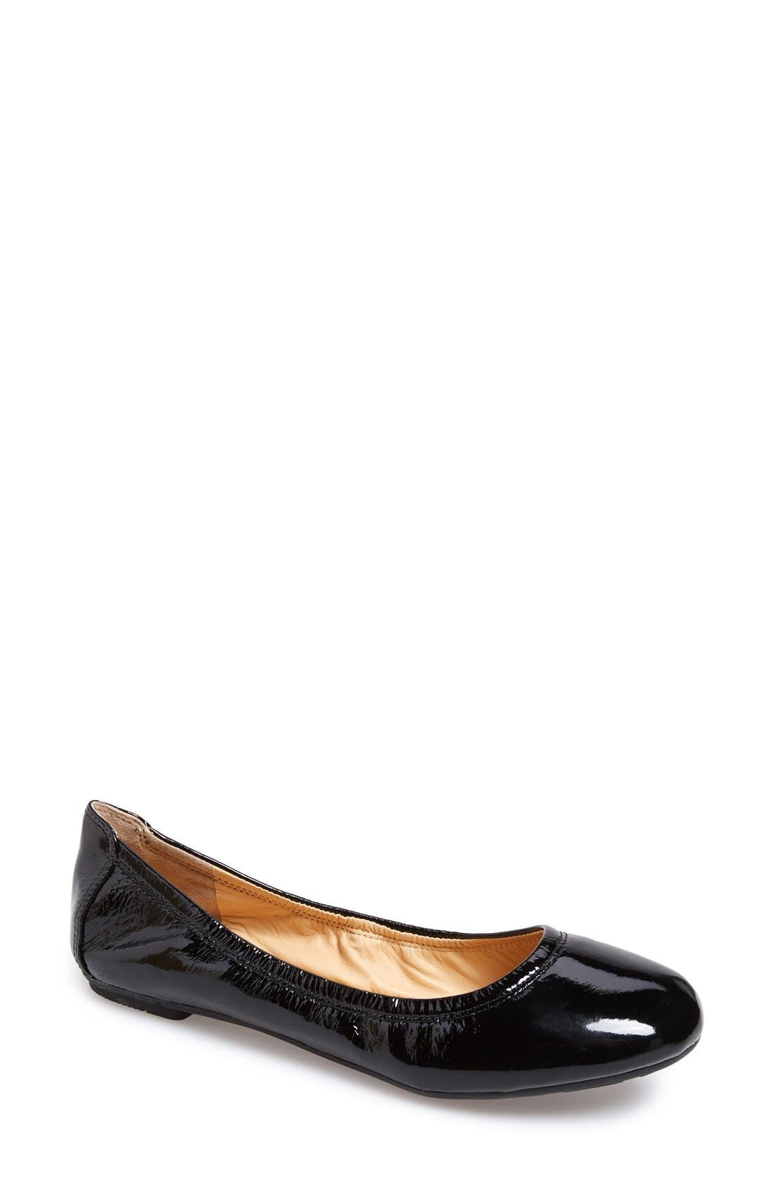 Alternate Image 1 Selected - Cole Haan 'Manhattan' Leather Ballet Flat (Women)
