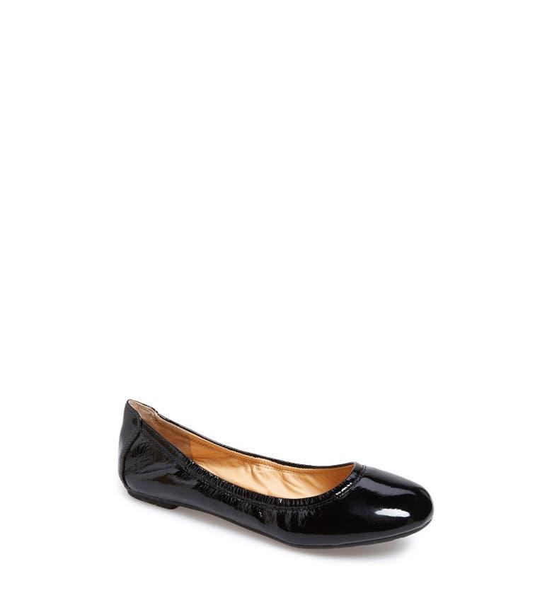 Manhattan Flats: Cole Haan 'Manhattan' Leather Ballet Flat (Women)