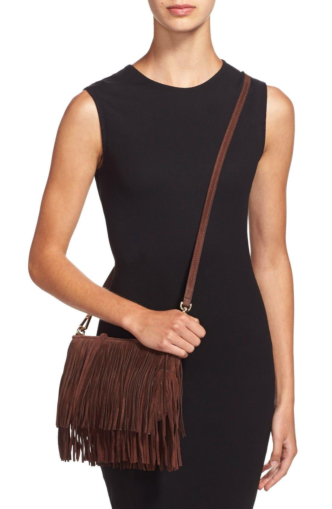 Alternate Image 2  - Rebecca Minkoff 'Finn' Convertible Leather Clutch