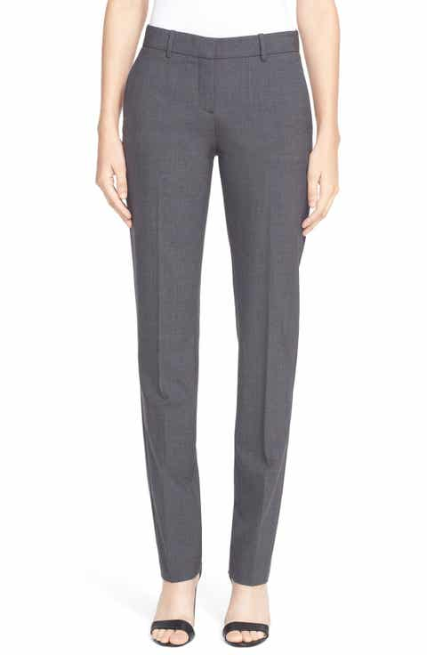 Theory 'Super Slim Edition' Stretch Wool Pants