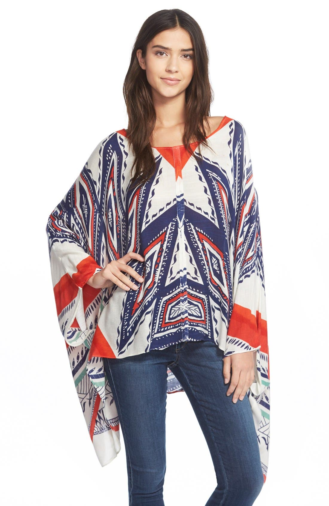 Alternate Image 1 Selected - Jules Smith 'Americana' Poncho