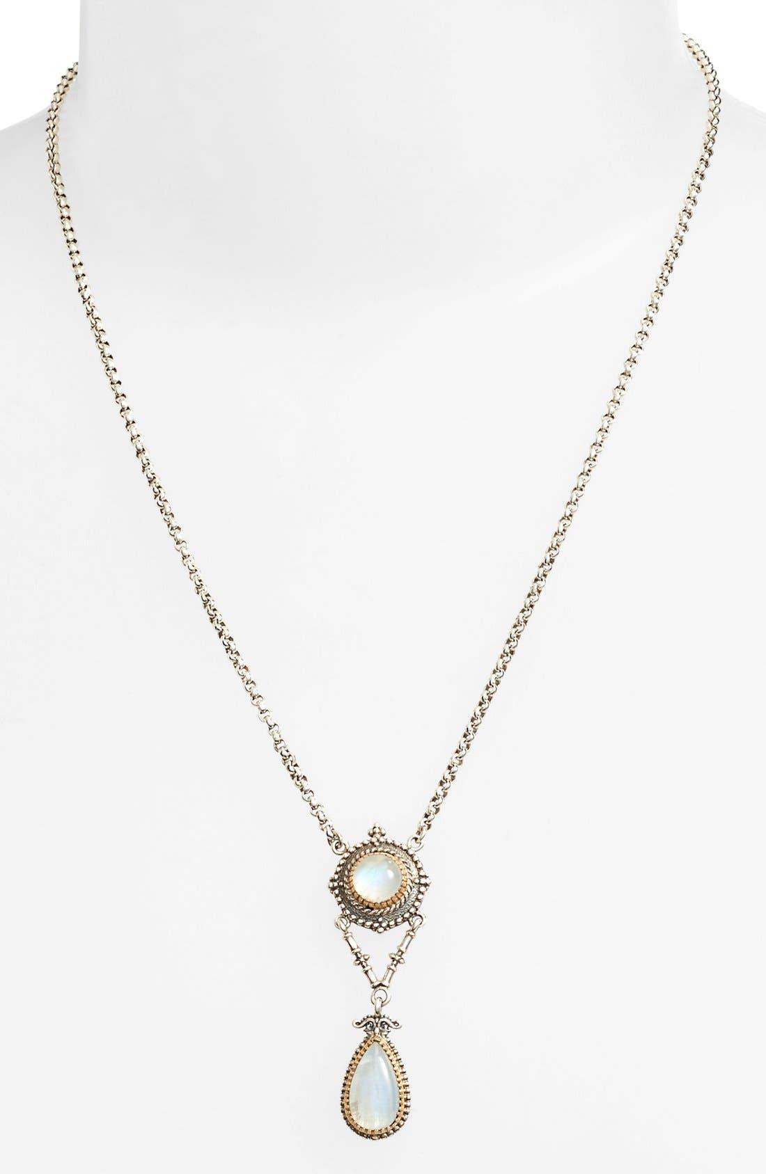 Alternate Image 2  - Konstantino 'Erato' Two Stone Drop Necklace