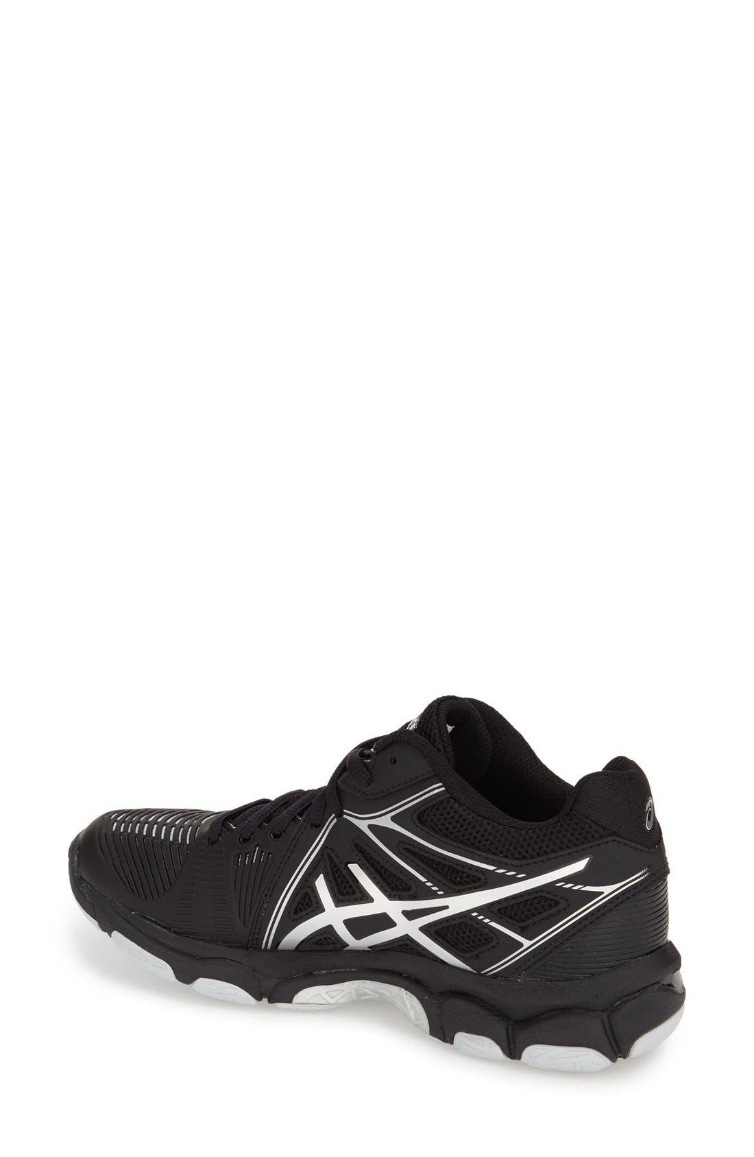 Alternate Image 2  - ASICS® 'GEL-Netburner' Mid Volleyball Shoe (Women)