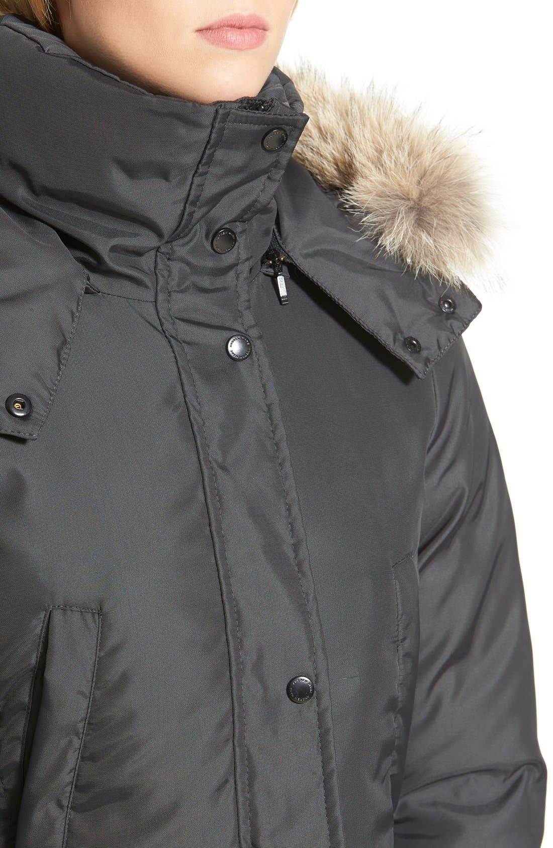 Alternate Image 5  - Andrew Marc Long Down Parka with Genuine Coyote Fur Trim