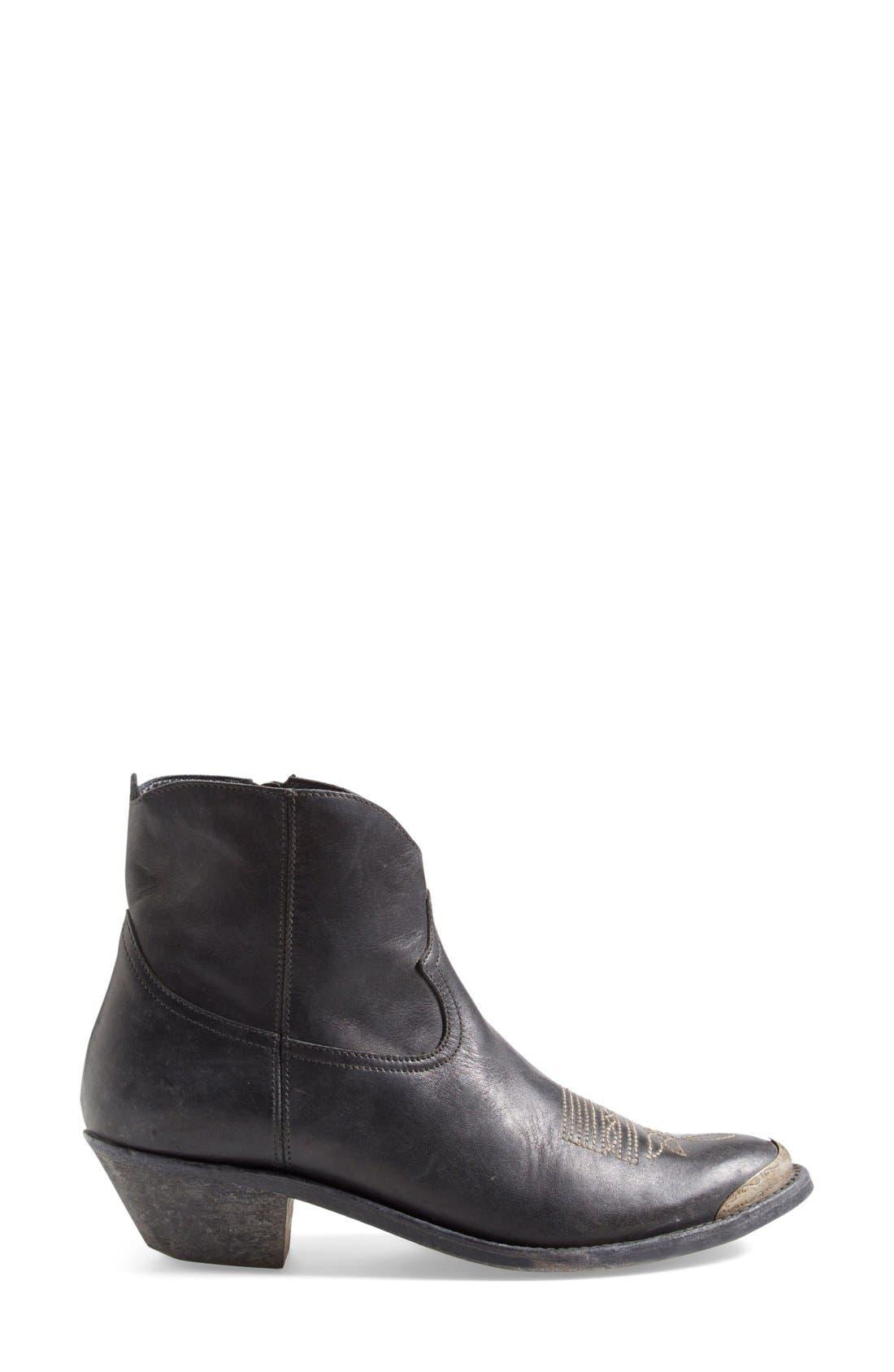 Alternate Image 3  - Golden Goose Pointy Toe Western Boot (Women)