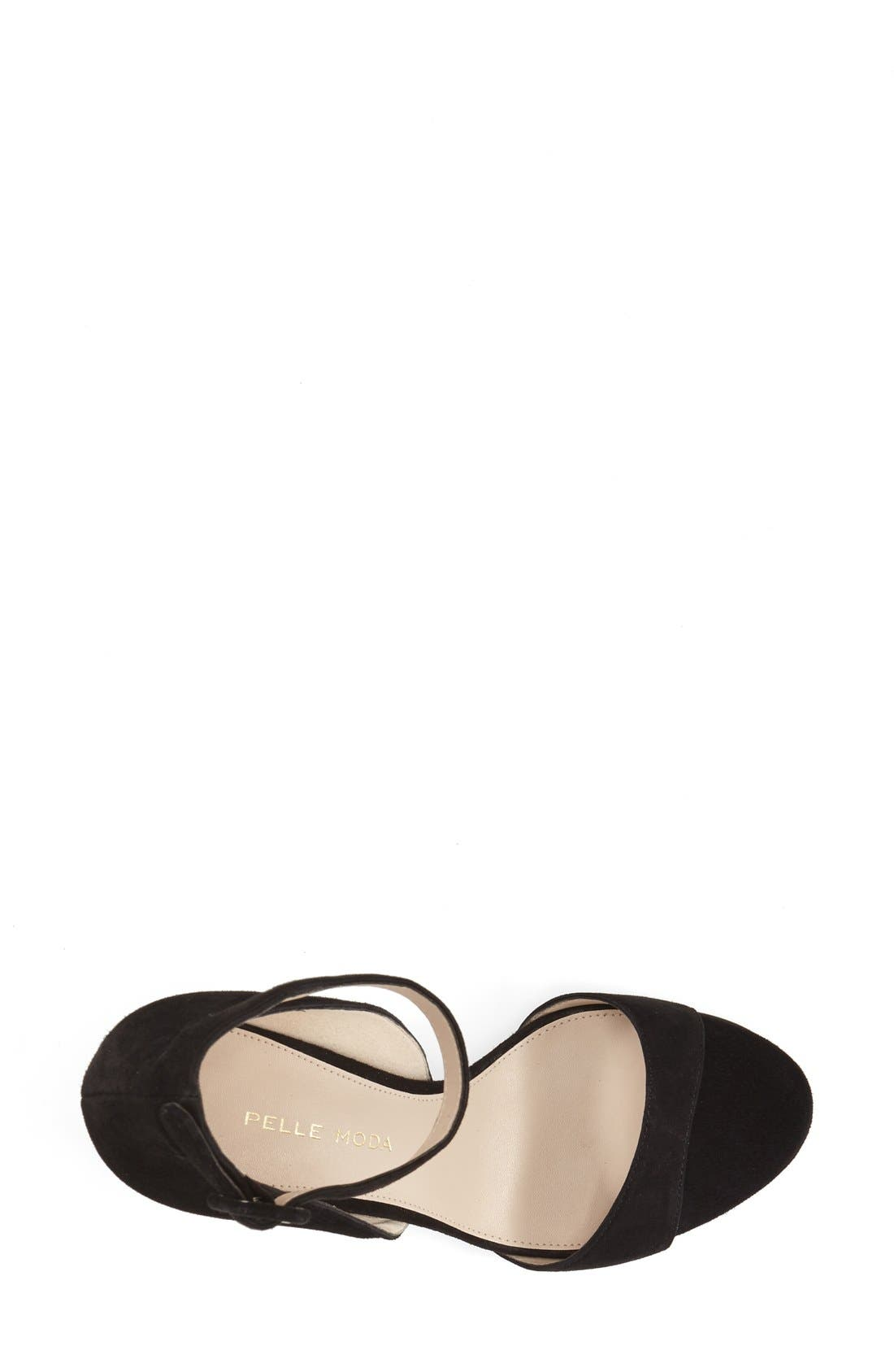 Alternate Image 3  - Pelle Moda'Foster' Ankle Strap Sandal (Women)