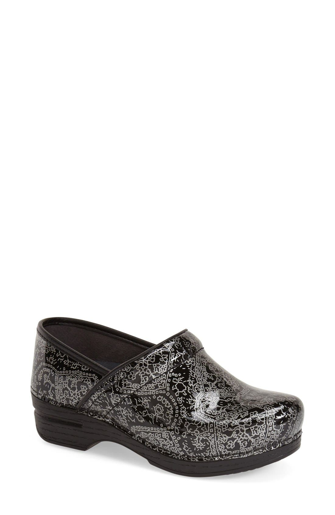 DANSKO 'Pro XP' Metallic Medallion Print Clog