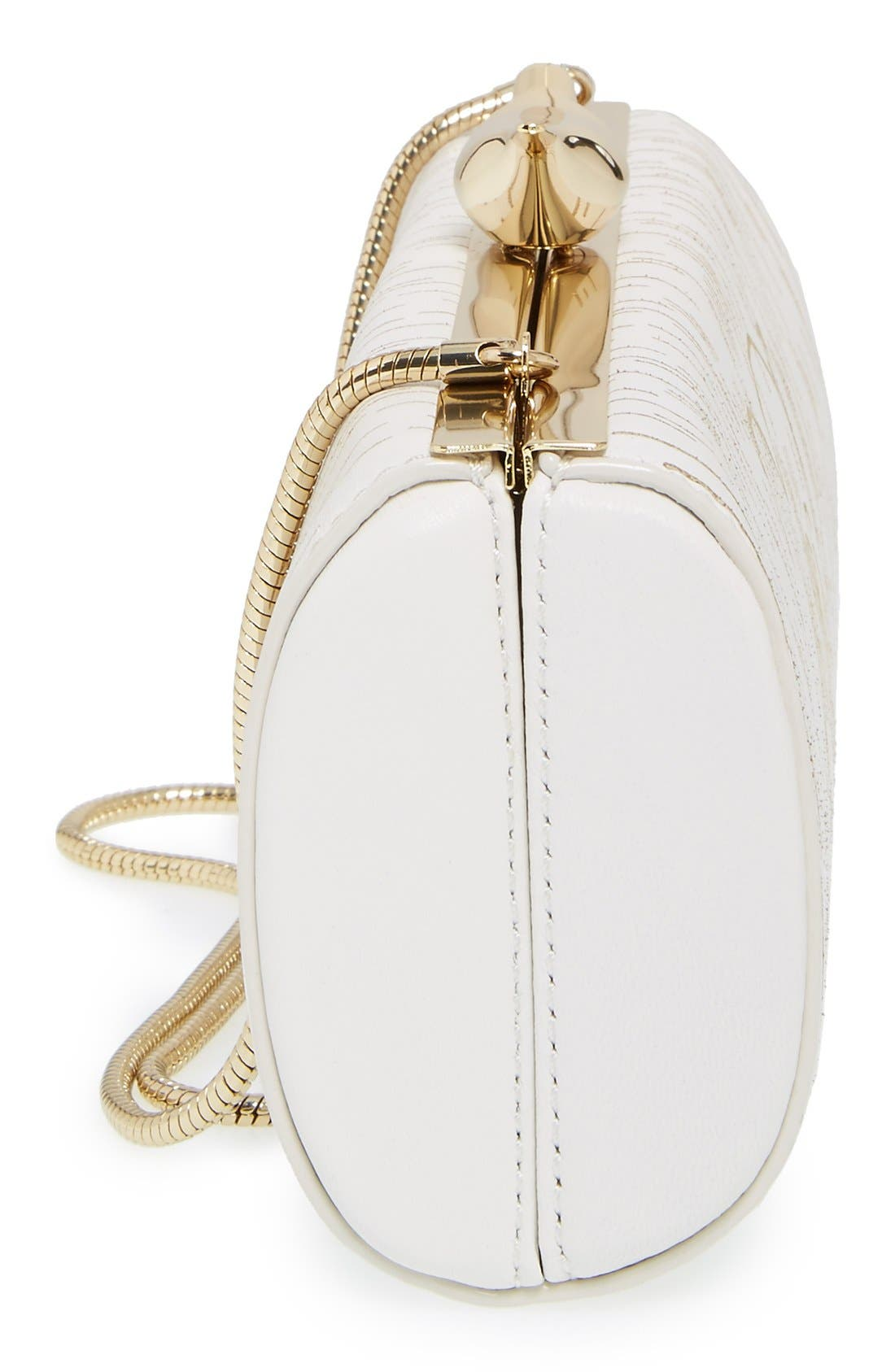 Alternate Image 5  - kate spade new york 'wedding belles - mr. & mrs.' clutch
