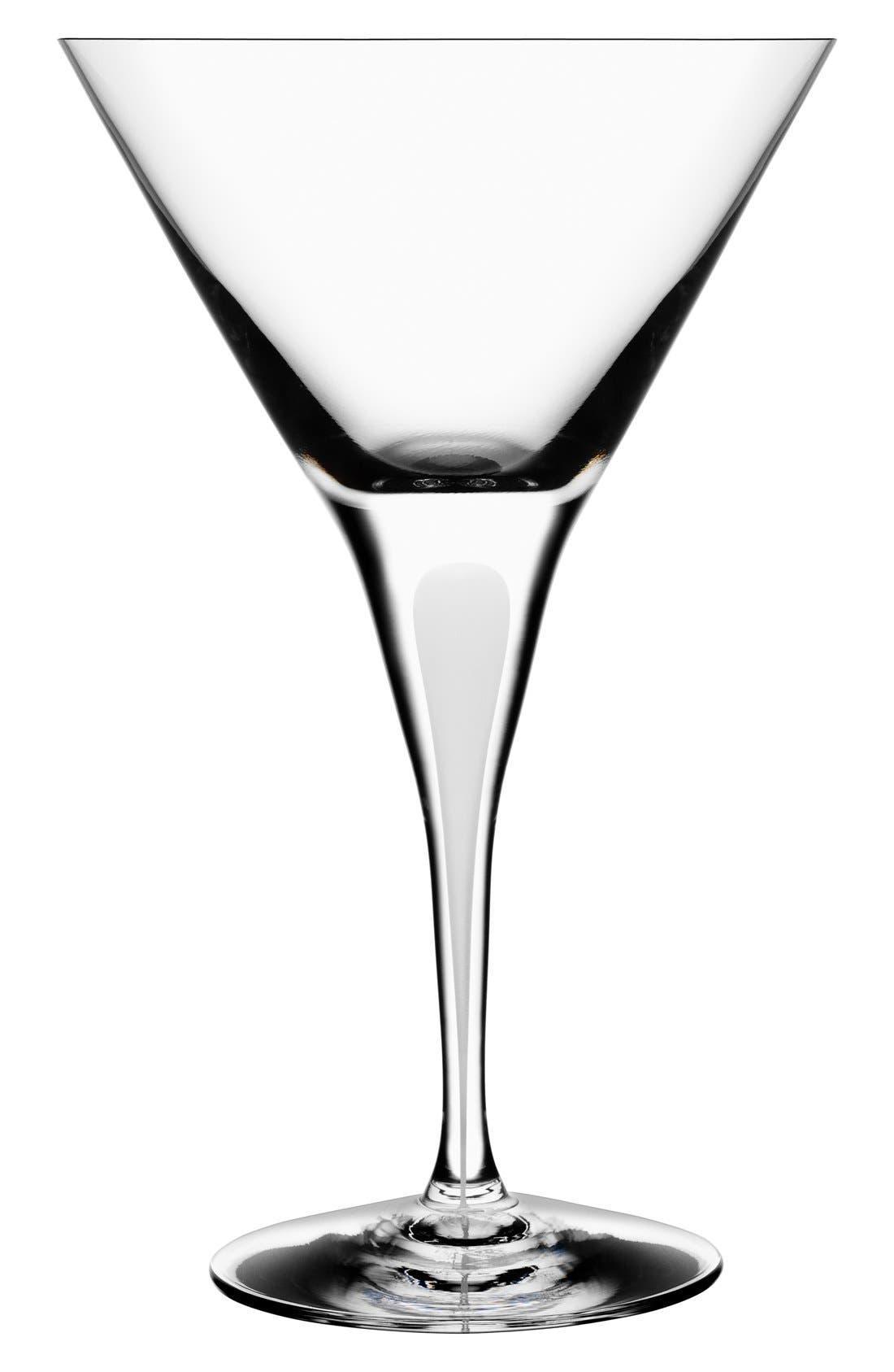 ORREFORS 'Intermezzo' Martini Glass