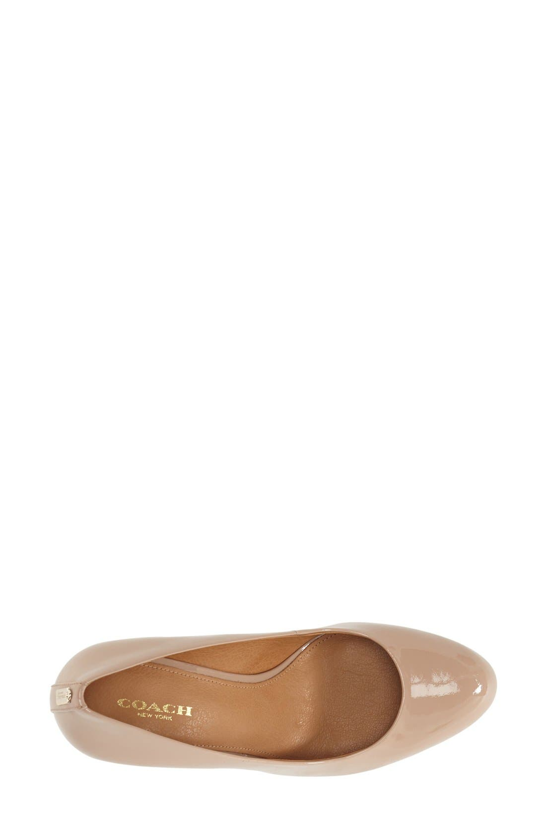 Alternate Image 3  - COACH 'Rileigh' Wedge Pump (Women)