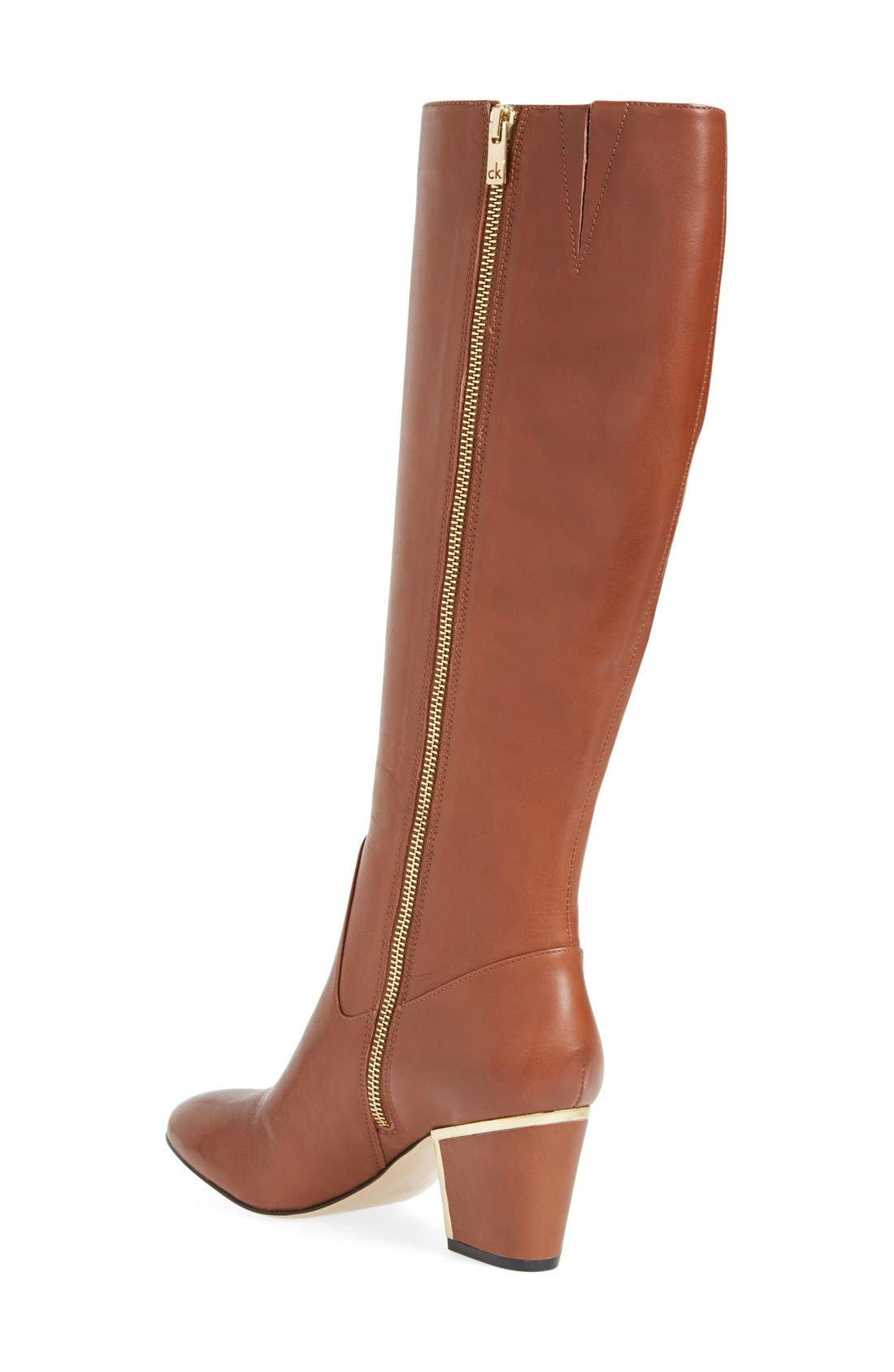 Alternate Image 2  - Calvin Klein'Keana' Knee High Boot (Women)
