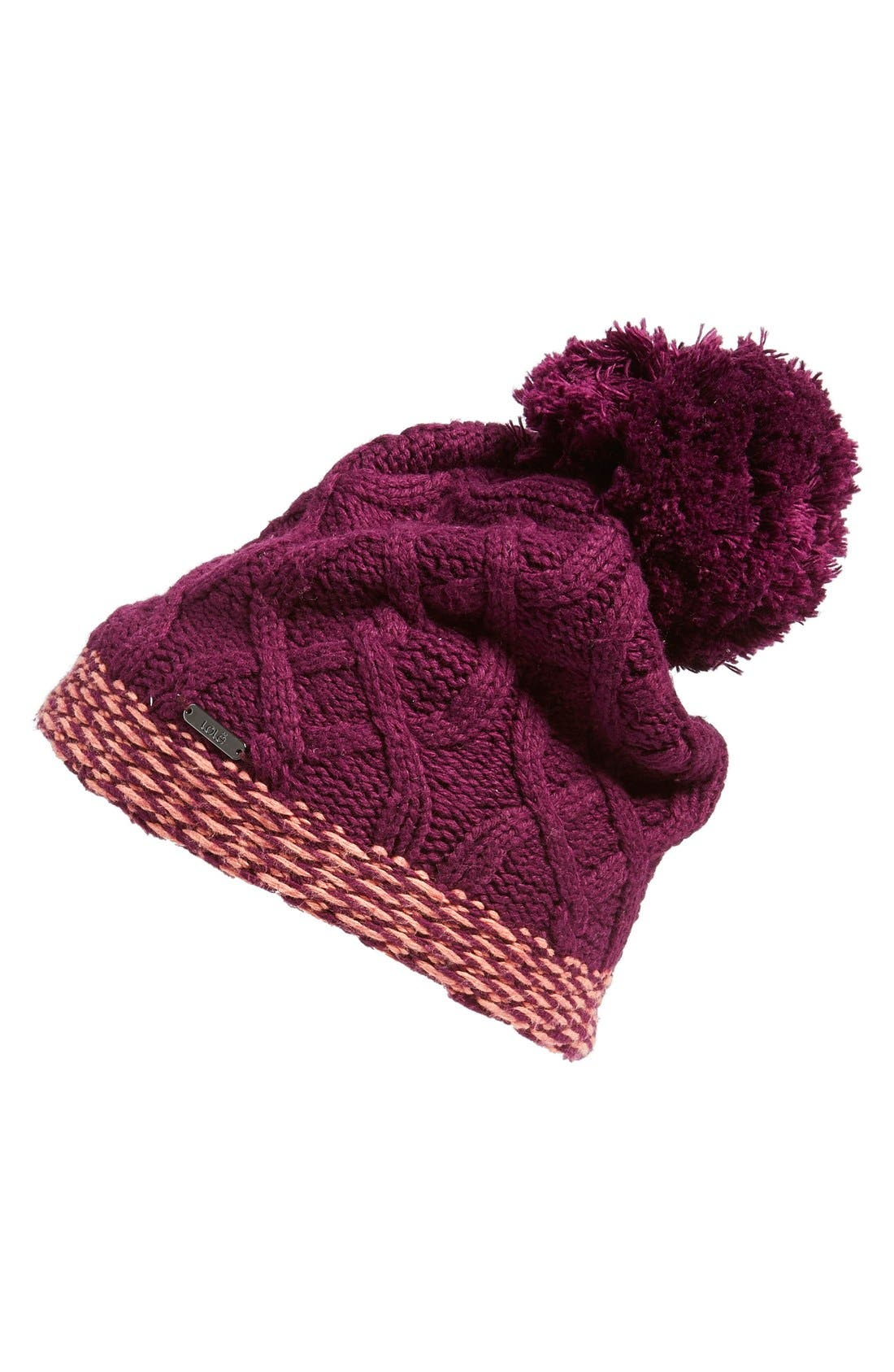 Alternate Image 1 Selected - LoleCable Knit Beanie